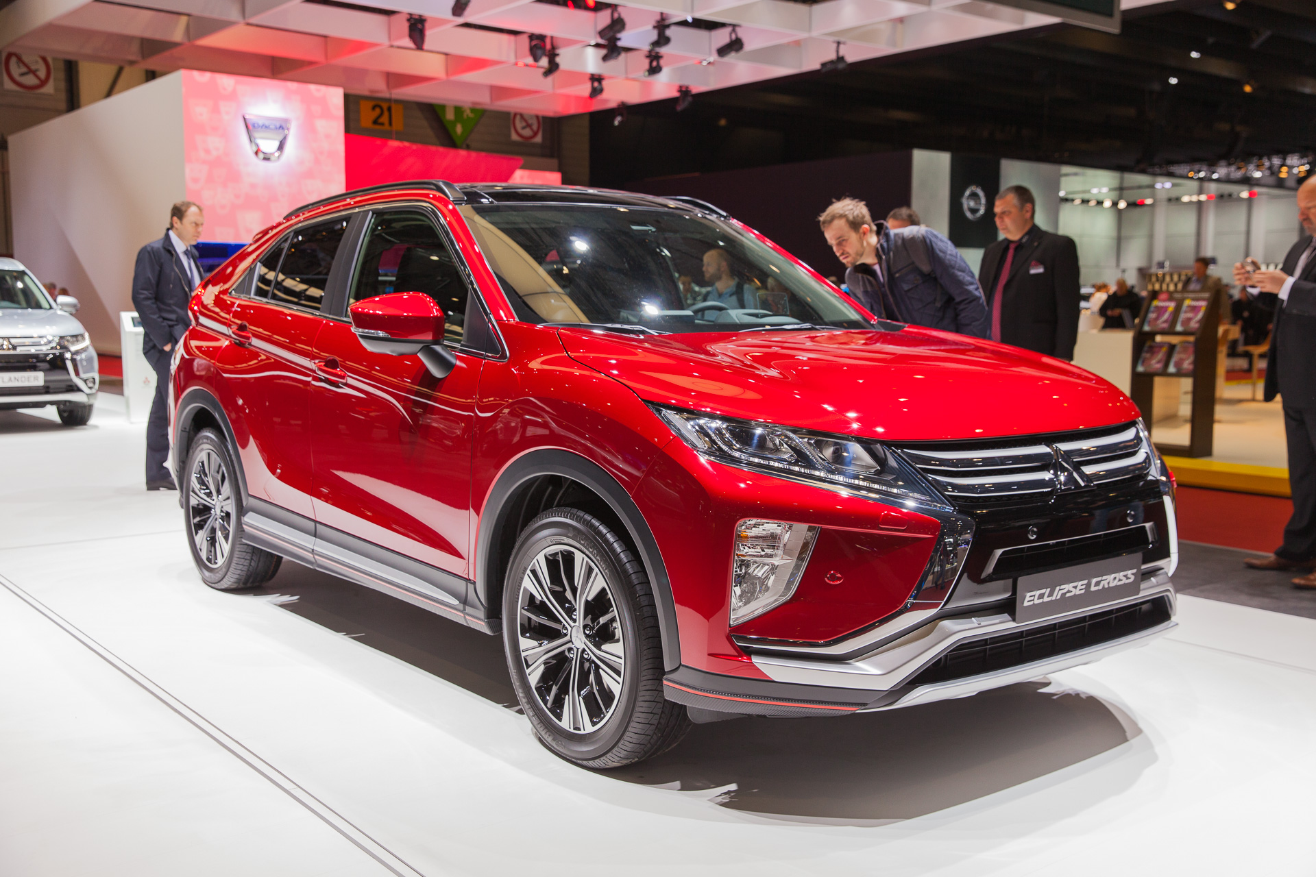 2018 Jaguar F Type >> 2018 Mitsubishi Eclipse Cross debuts at Geneva auto show