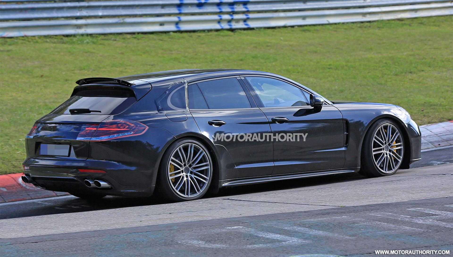 2018 Porsche Panamera Shooting Brake Spy Shots