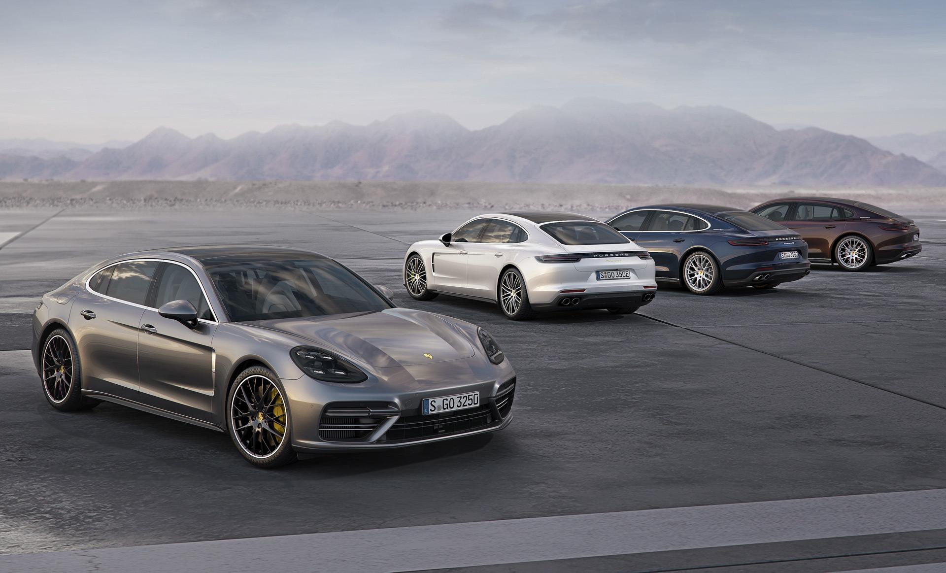 Porsche Panamera base, Executive models set for LA auto show