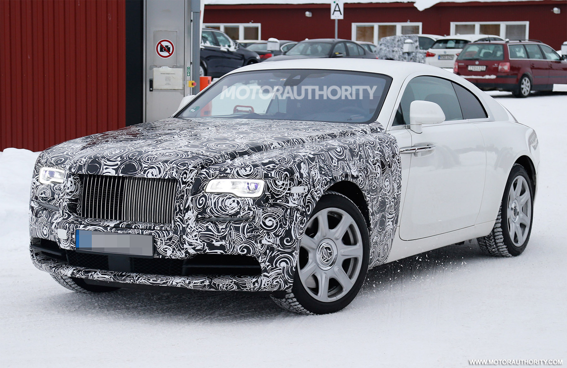 2018 Rolls Royce Wraith Series Ii Spy Shots
