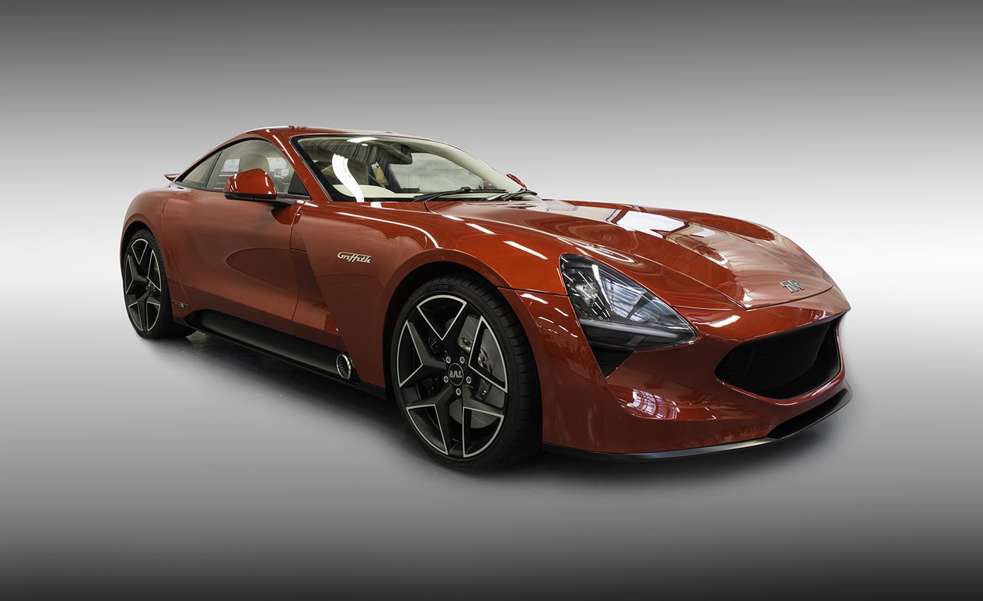 tvr returns with 500 horsepower griffith sports car. Black Bedroom Furniture Sets. Home Design Ideas