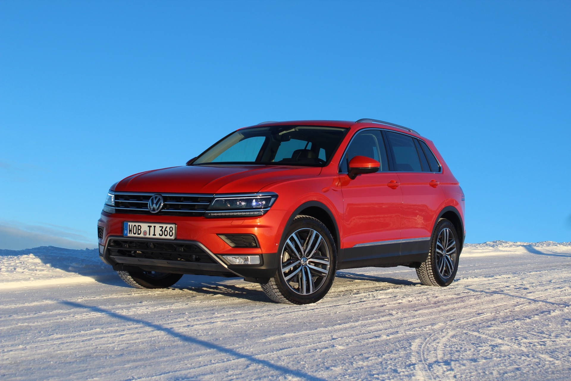 Las Vegas Used Cars >> 2018 Volkswagen Tiguan: Preview Drive
