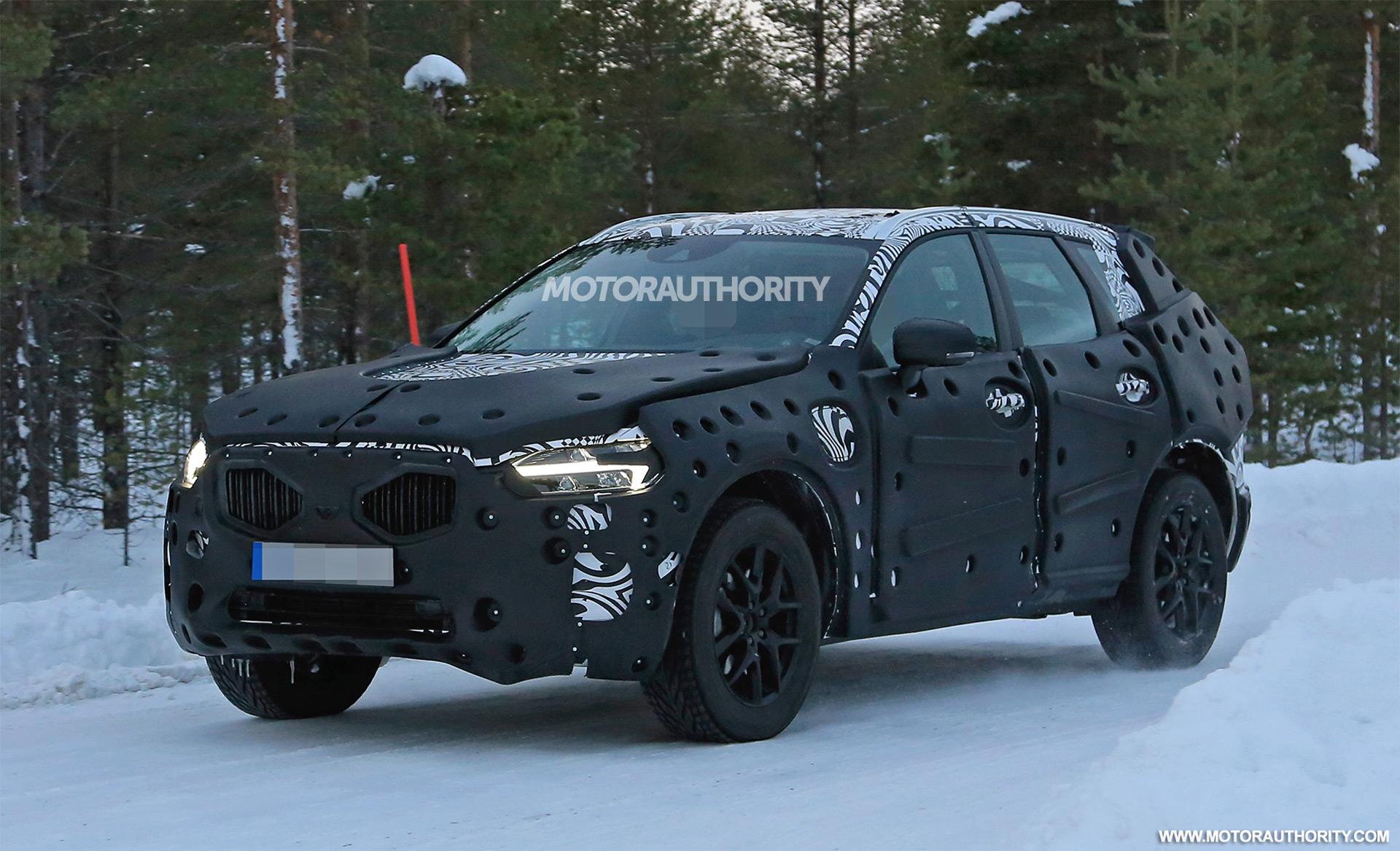 2018 Volvo Xc60 Spy Shots