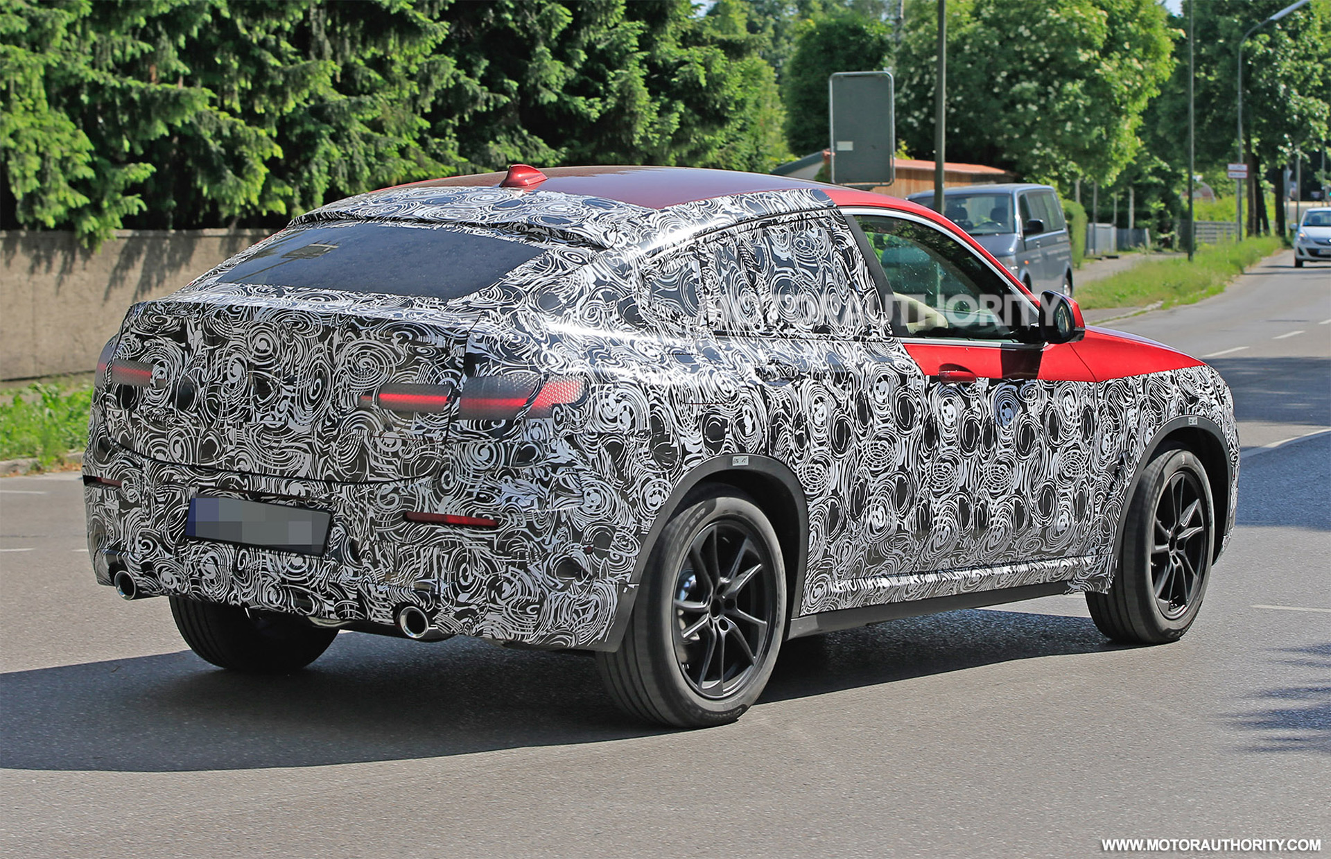 2019 Bmw X4 Spy Shots Autozaurus