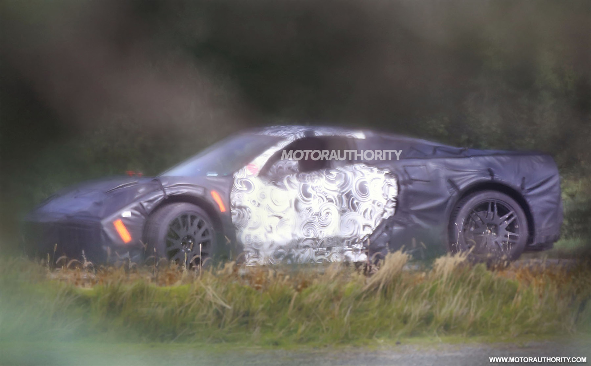 2019 Chevrolet Corvette (C8) spy shots