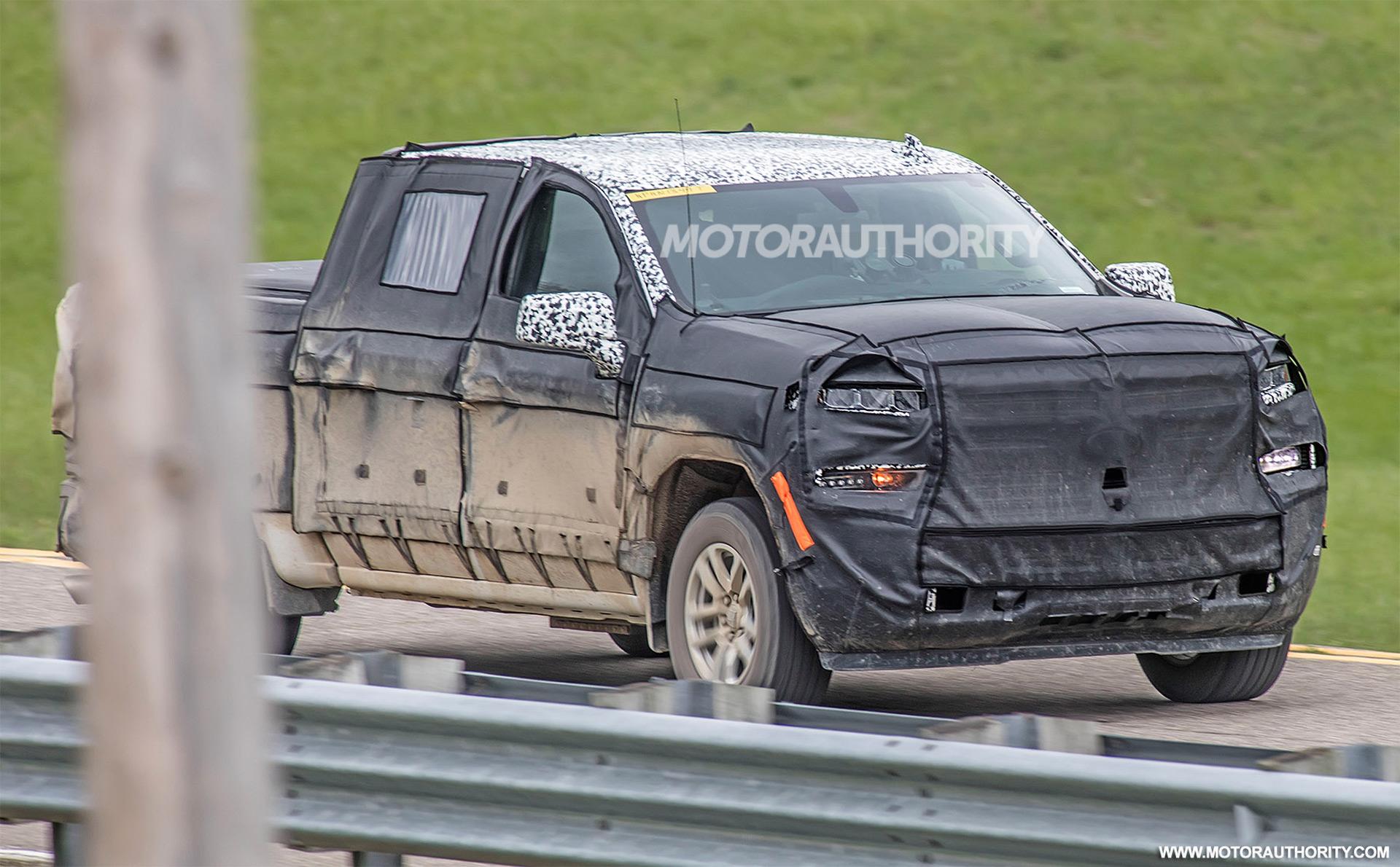 2019 Chevrolet Silverado 1500 spy shots