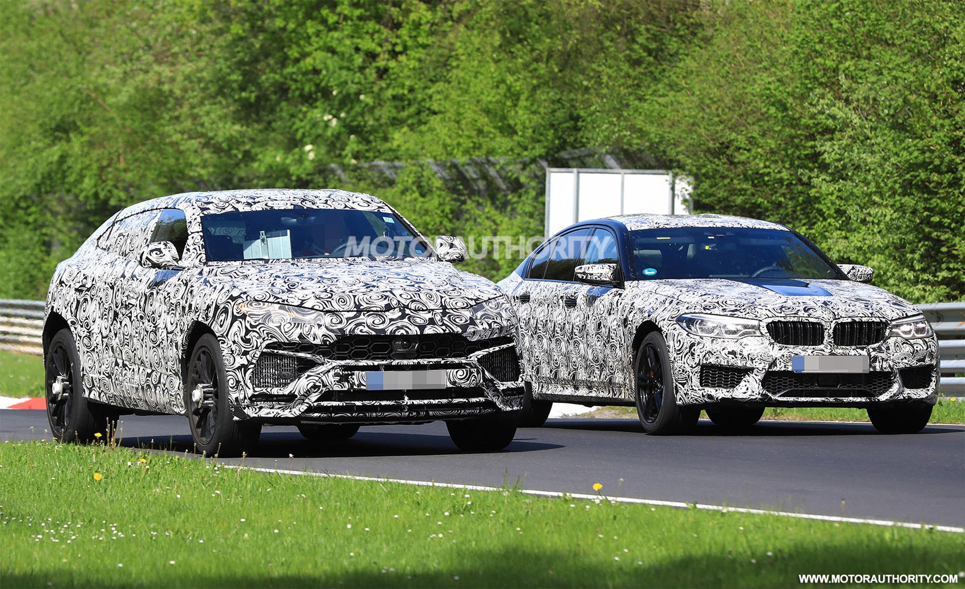 2019 Lamborghini Urus Spy Shots And Video Autozaurus