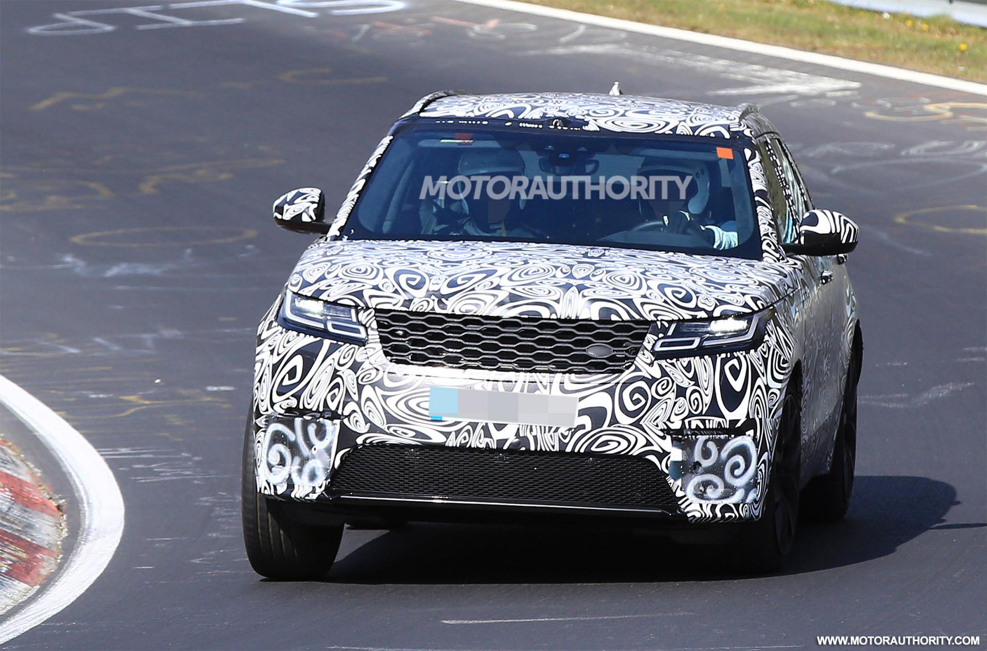2019 Land Rover Range Rover Velar Svr Spy Shots And Video