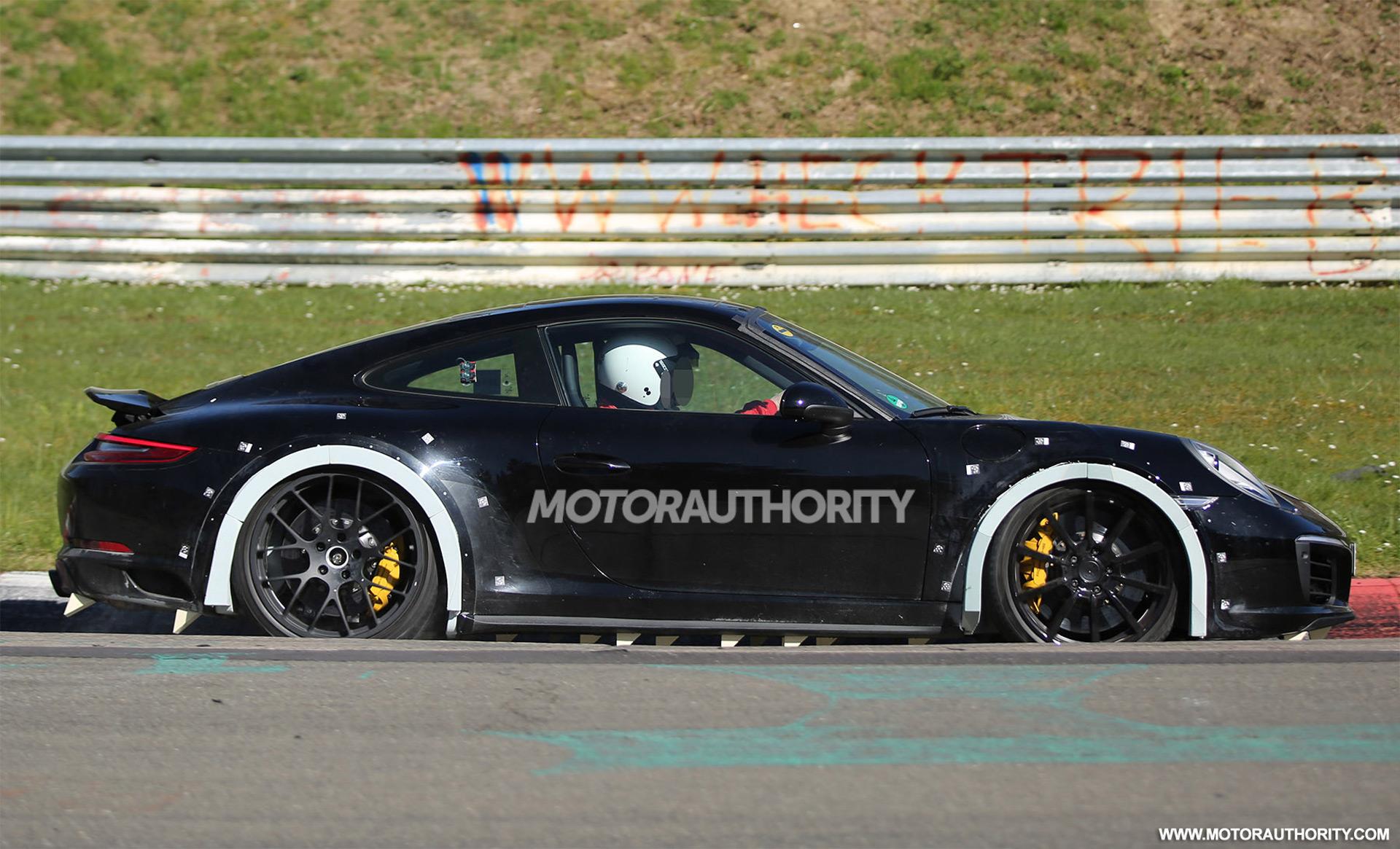 2019 Porsche 911 Spy Shots Autozaurus