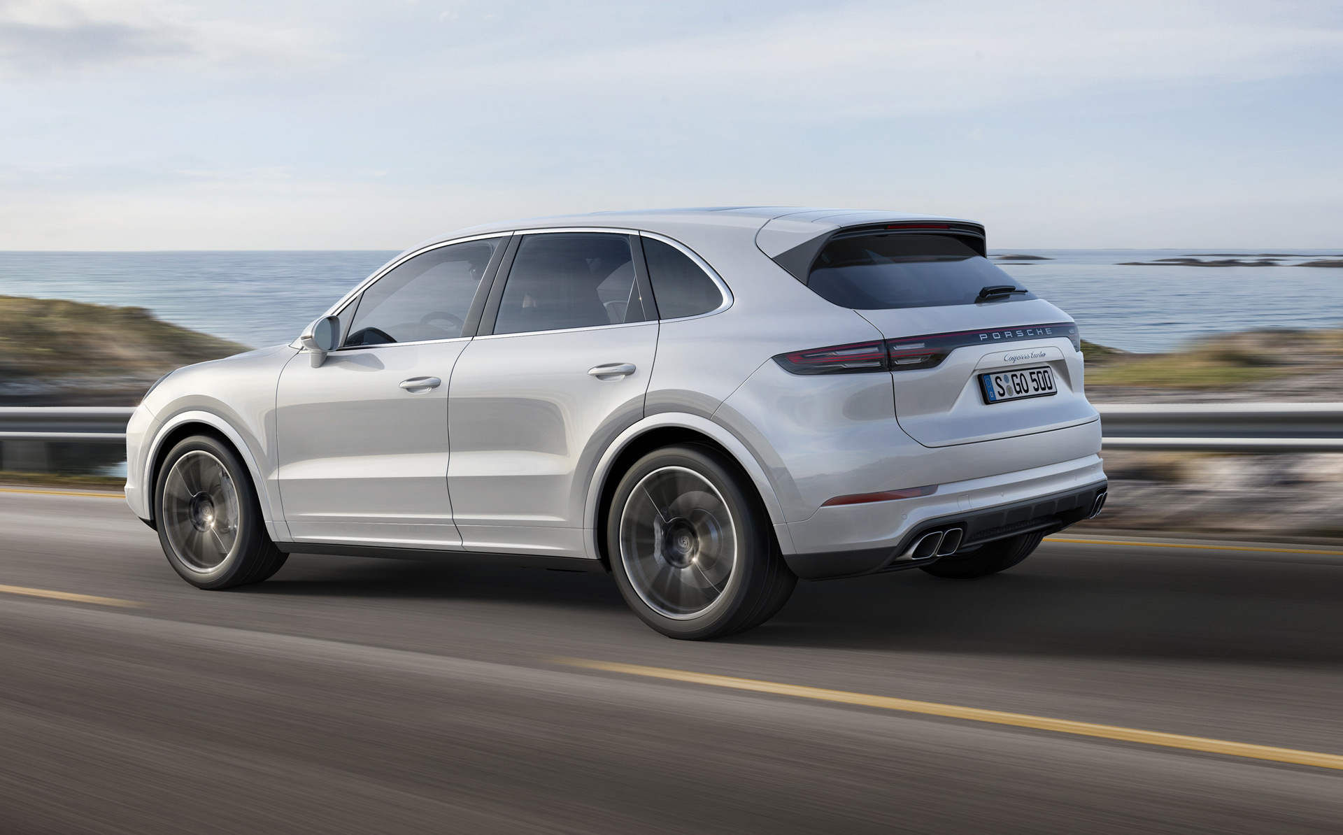 2019 Porsche Cayenne Turbo Takes Familiar Route To High