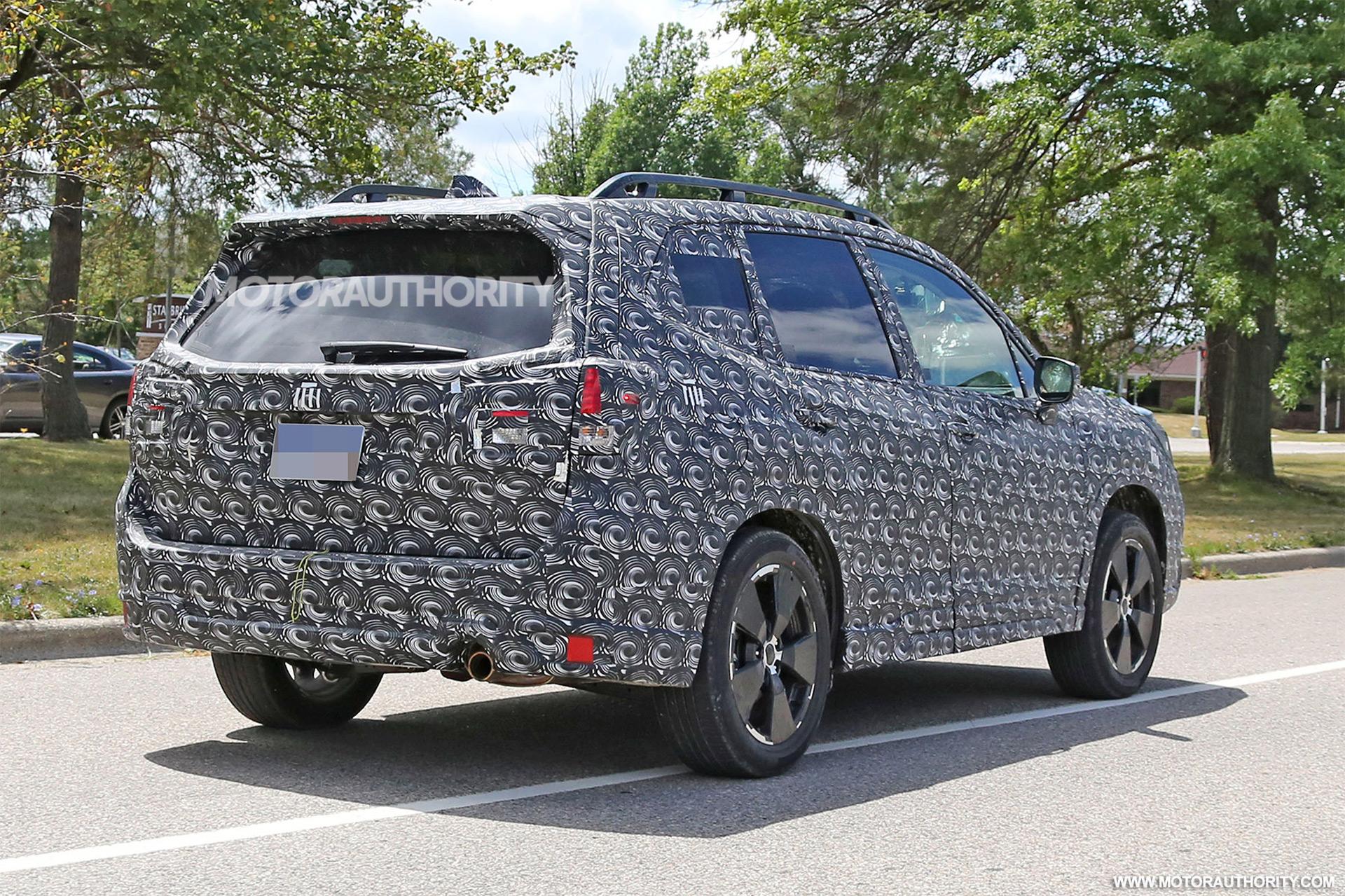 2019 Subaru Forester spy shots | Autozaurus