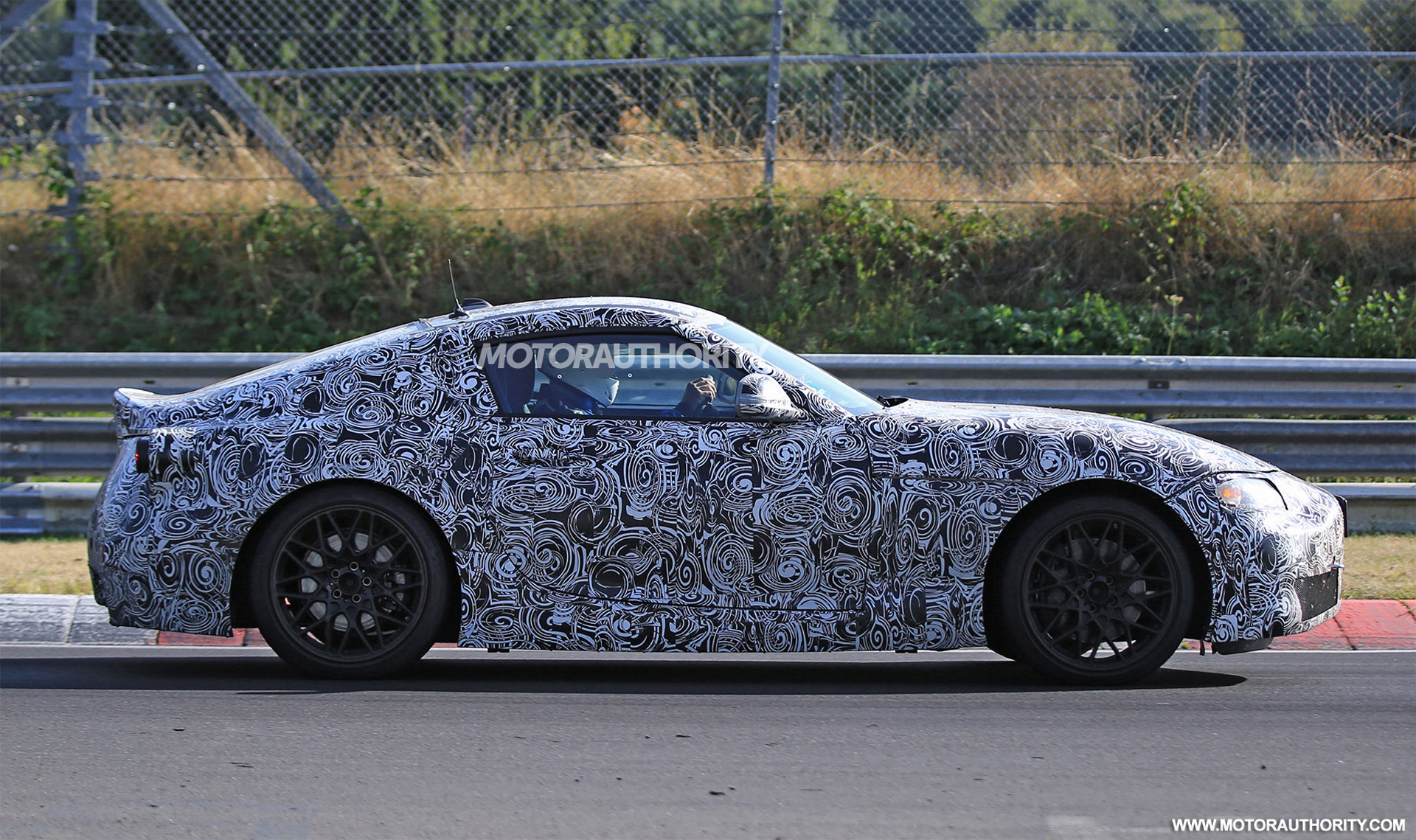 2019 toyota supra spy shots and video. Black Bedroom Furniture Sets. Home Design Ideas