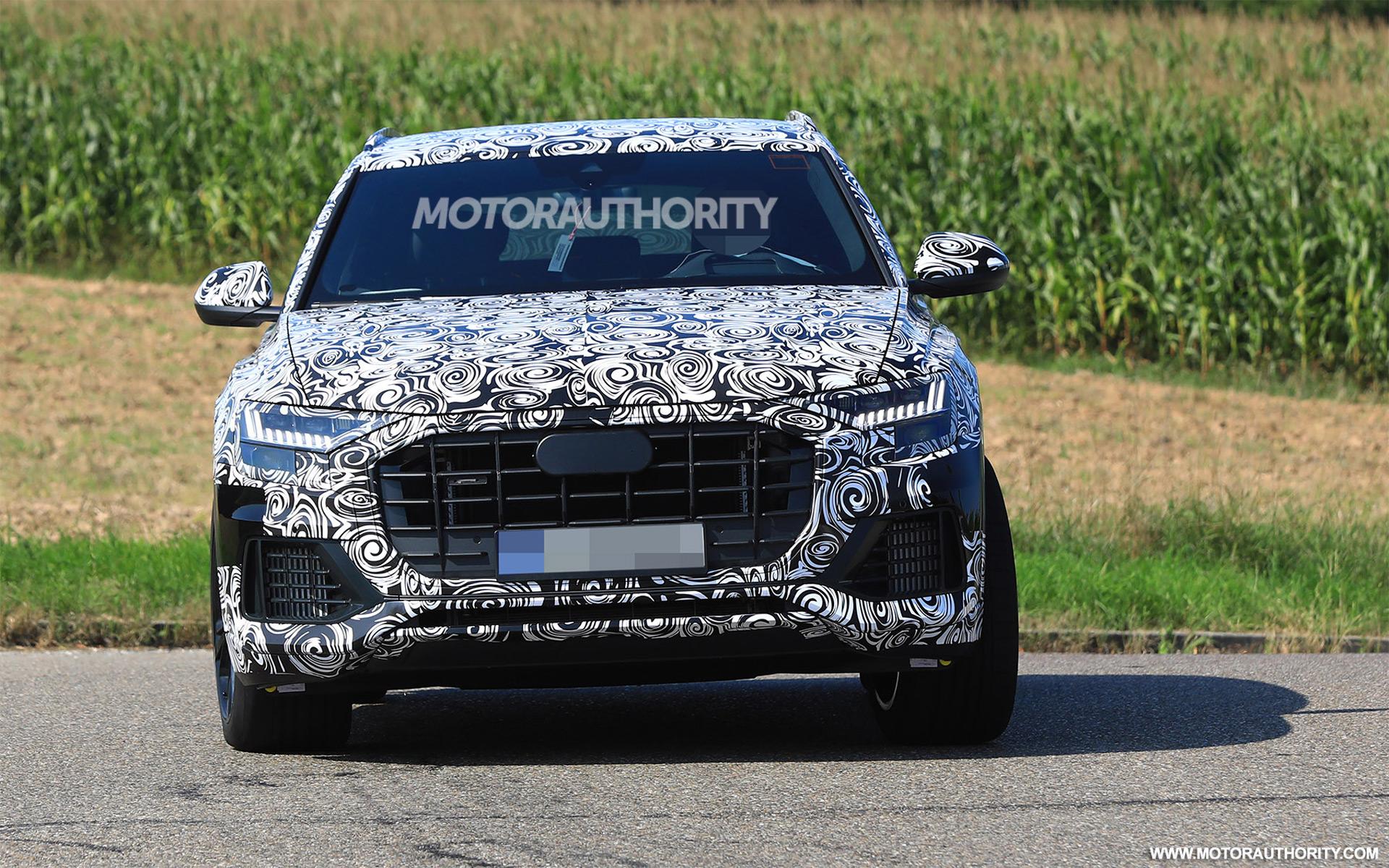 2020 Audi SQ8 spy shots