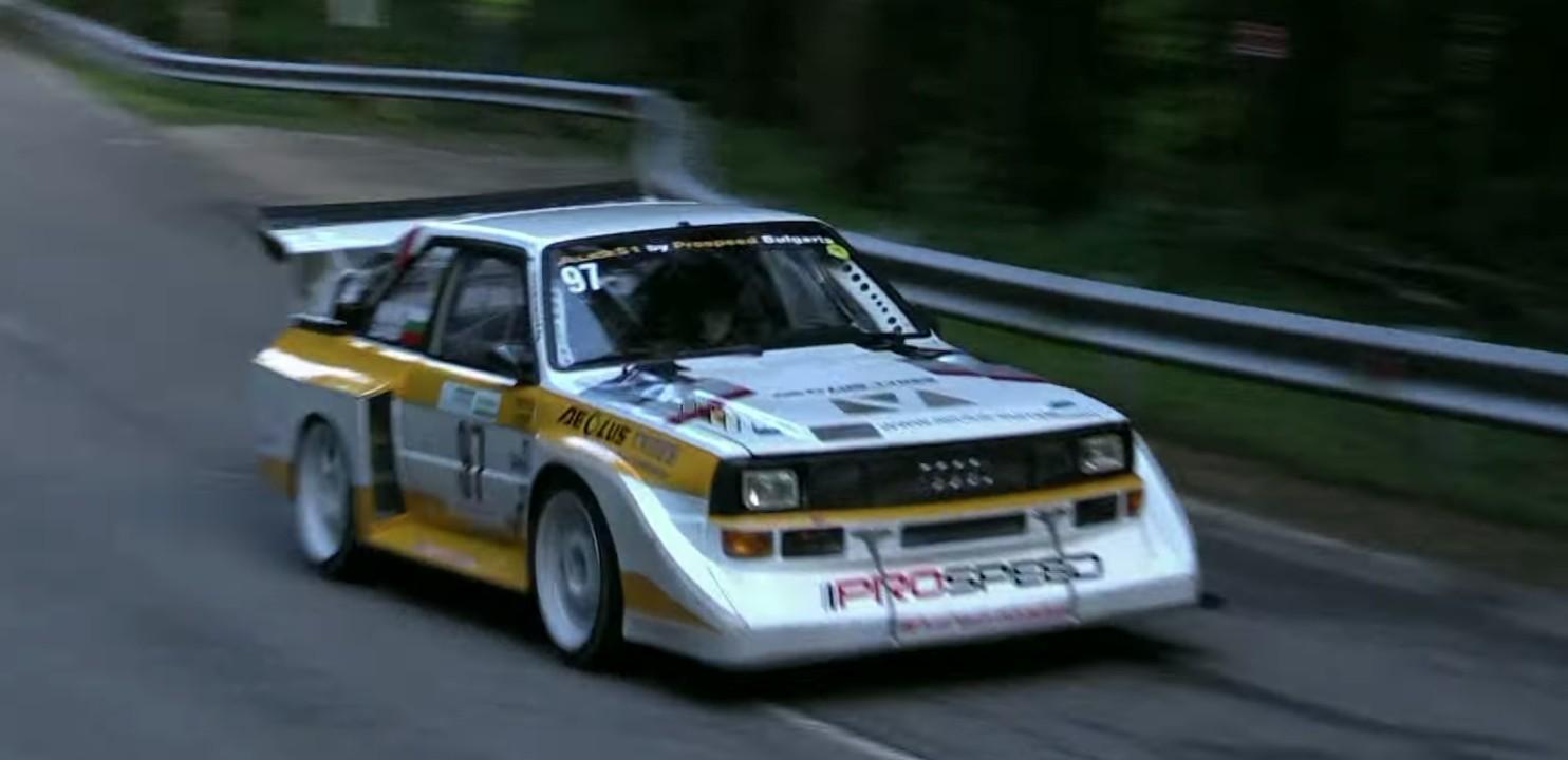 Eine Kleine Forestmusik 770 Hp Audi Sport Quattro S1