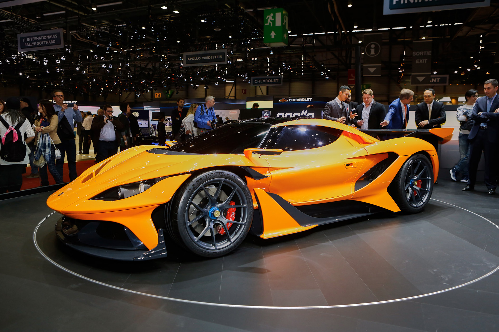 Apollo arrives in Geneva with 986-hp Arrow supercar