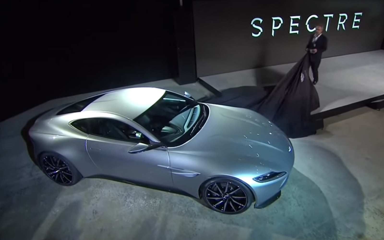 Amazing Watch The Reveal Of The Aston Martin DB10 At The James