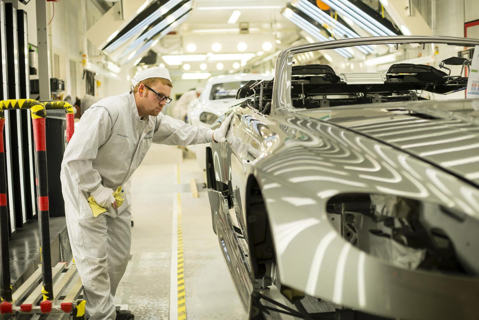 aston martin upgrading manufacturing facilities  future models