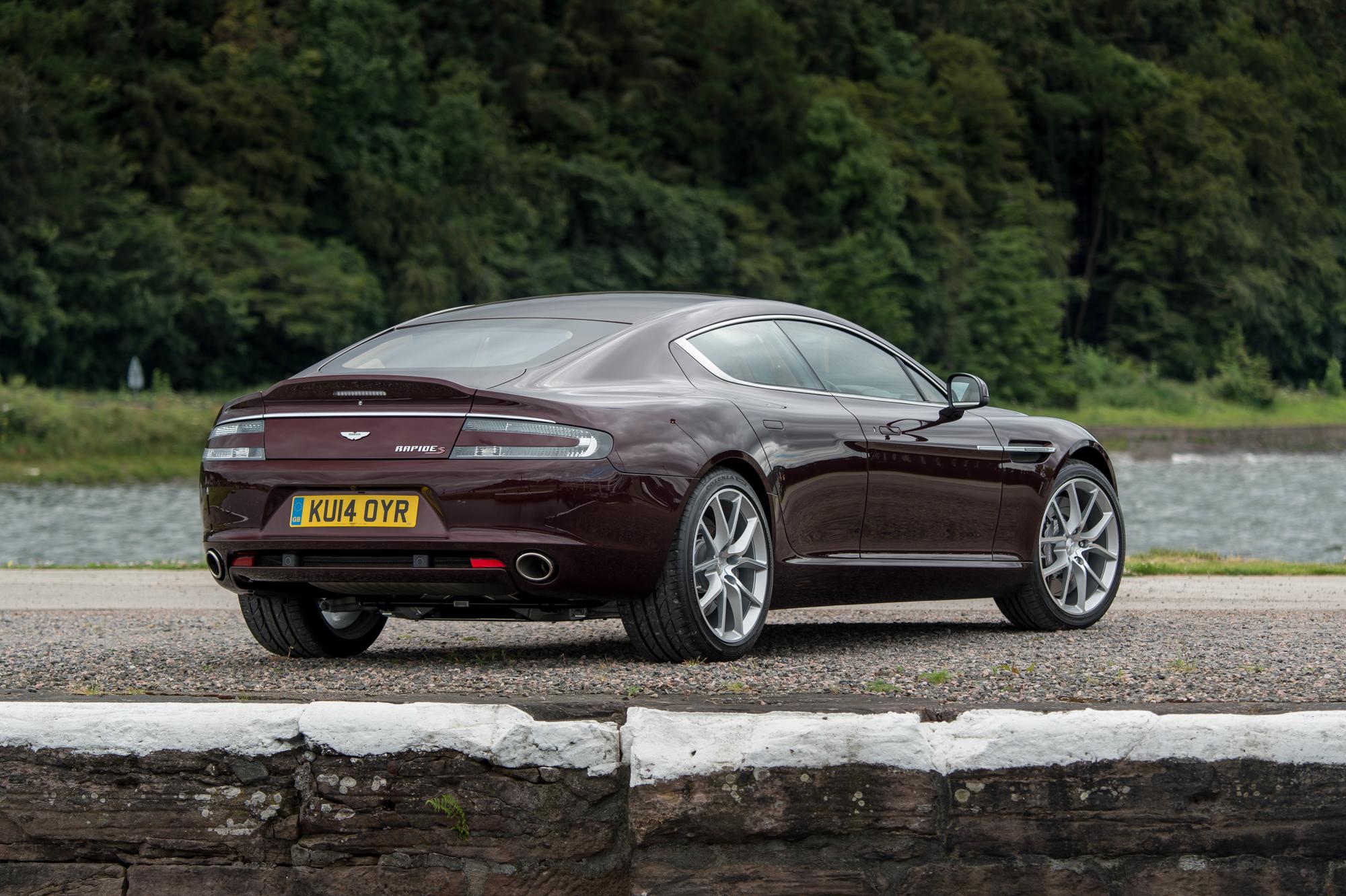 Aston Martin To Replace Rapide With New Lagonda Sedan