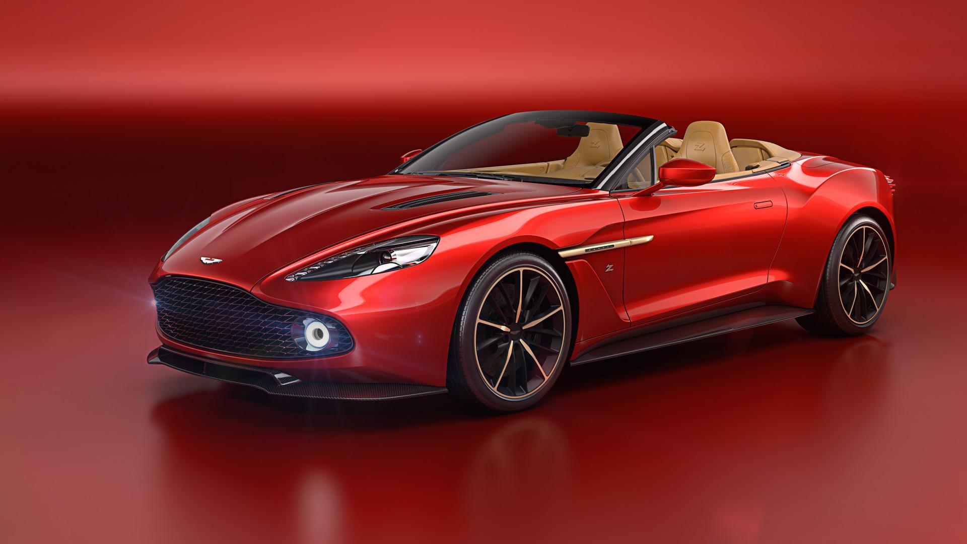 Aston Martin Vanquish Zagato Volante to debut at Pebble Beach