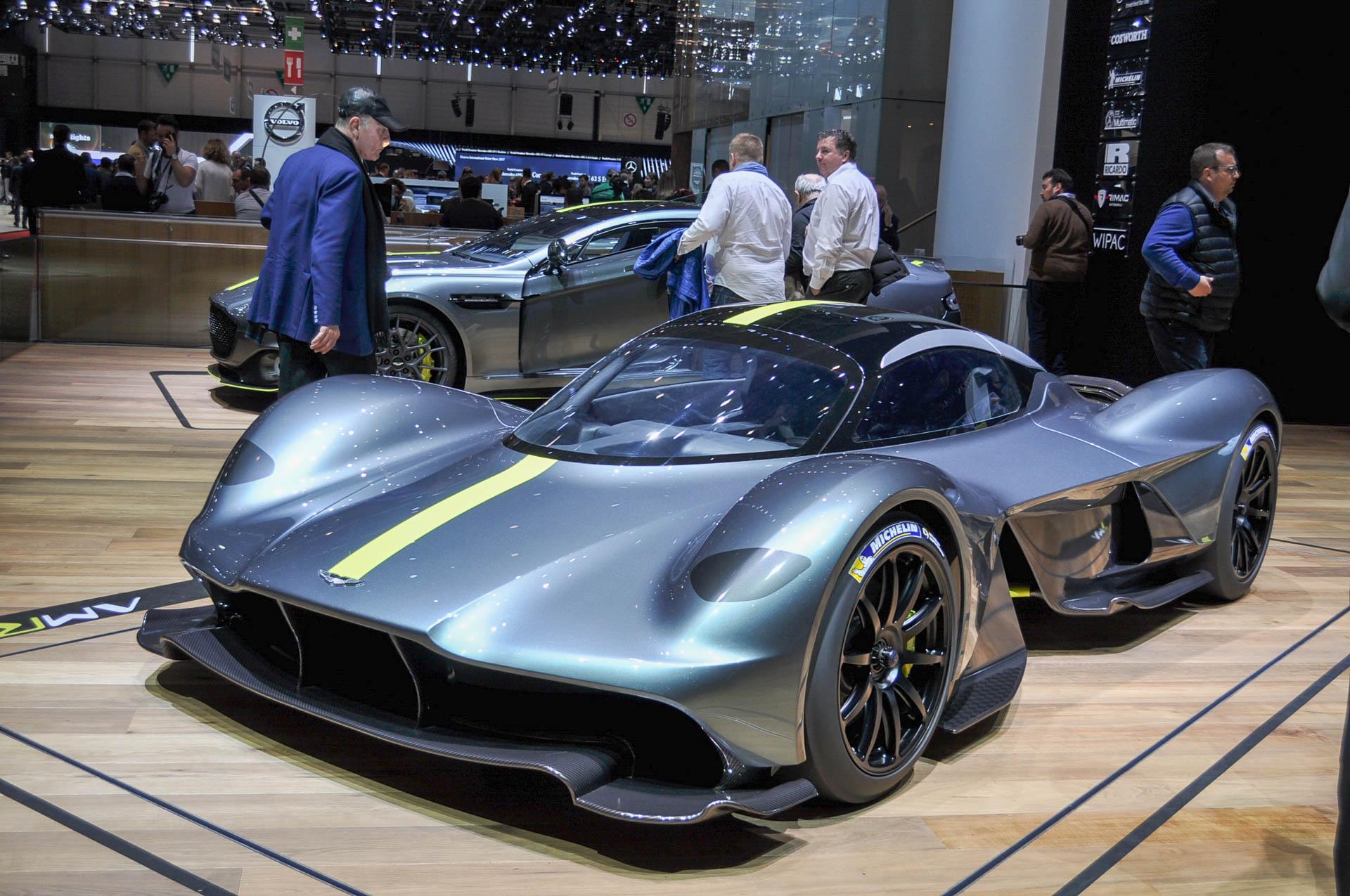 Aston Martin hypercar named Valkyrie, presented in Geneva