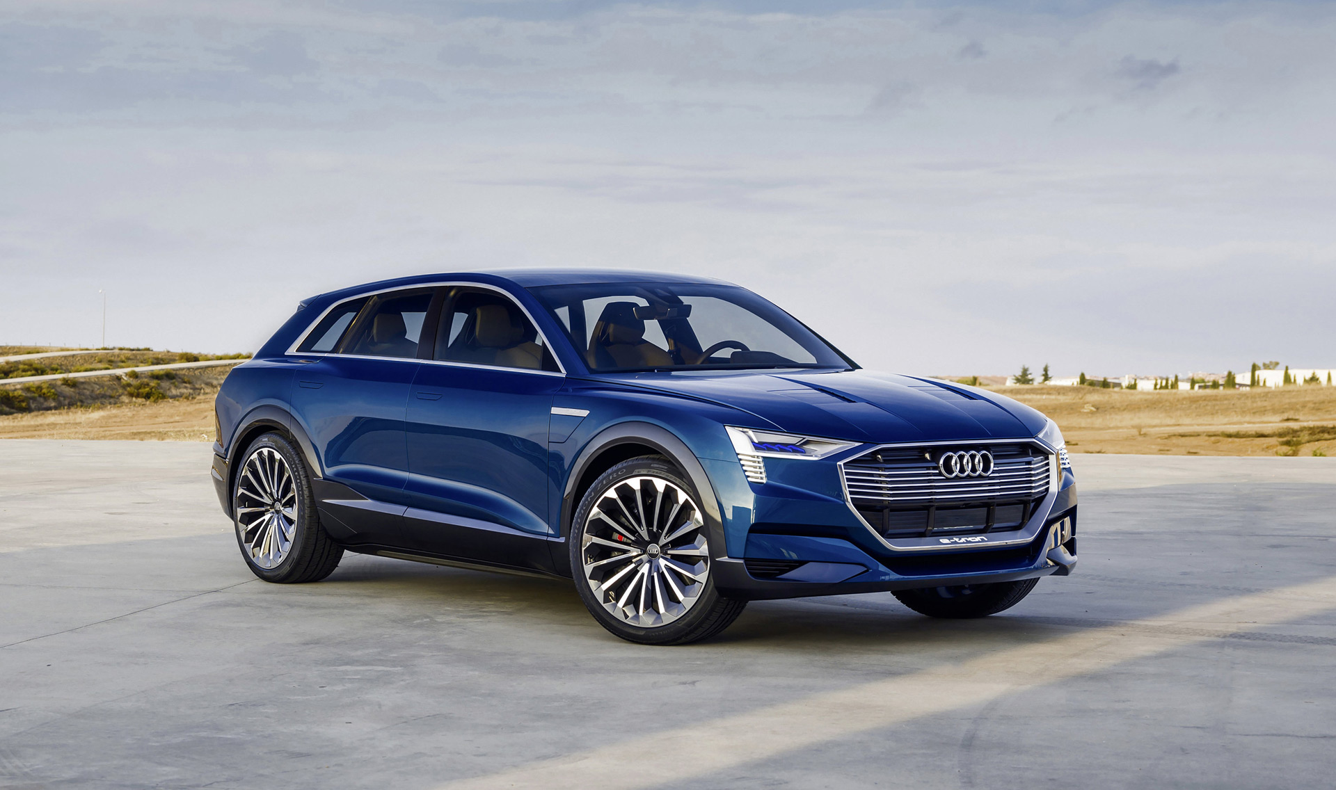 audi e tron electric suv to be built in belgium