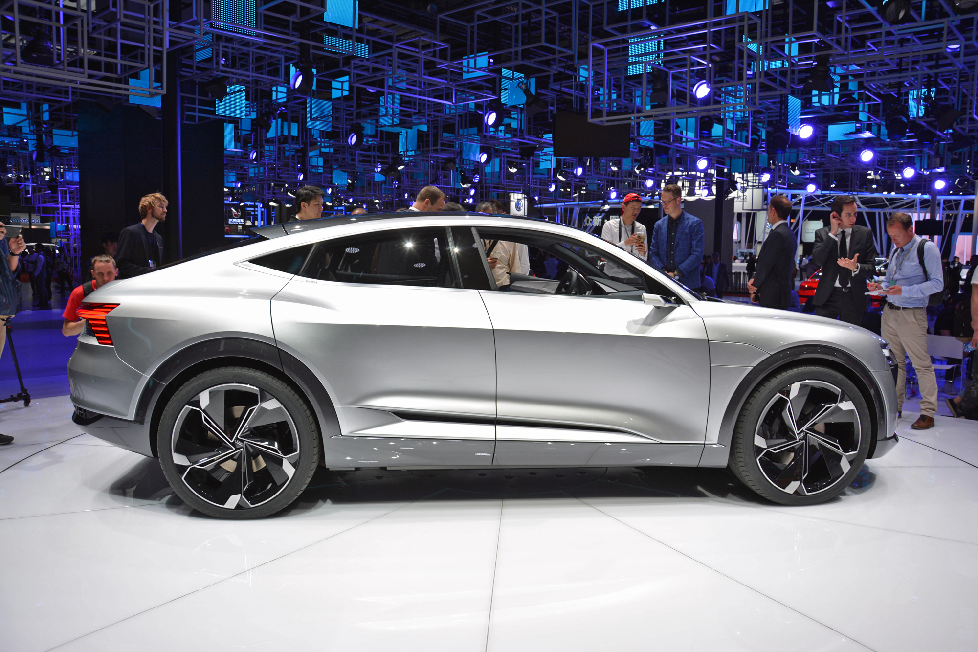 ... Concept: full electic-car details, photos from Shanghai auto show