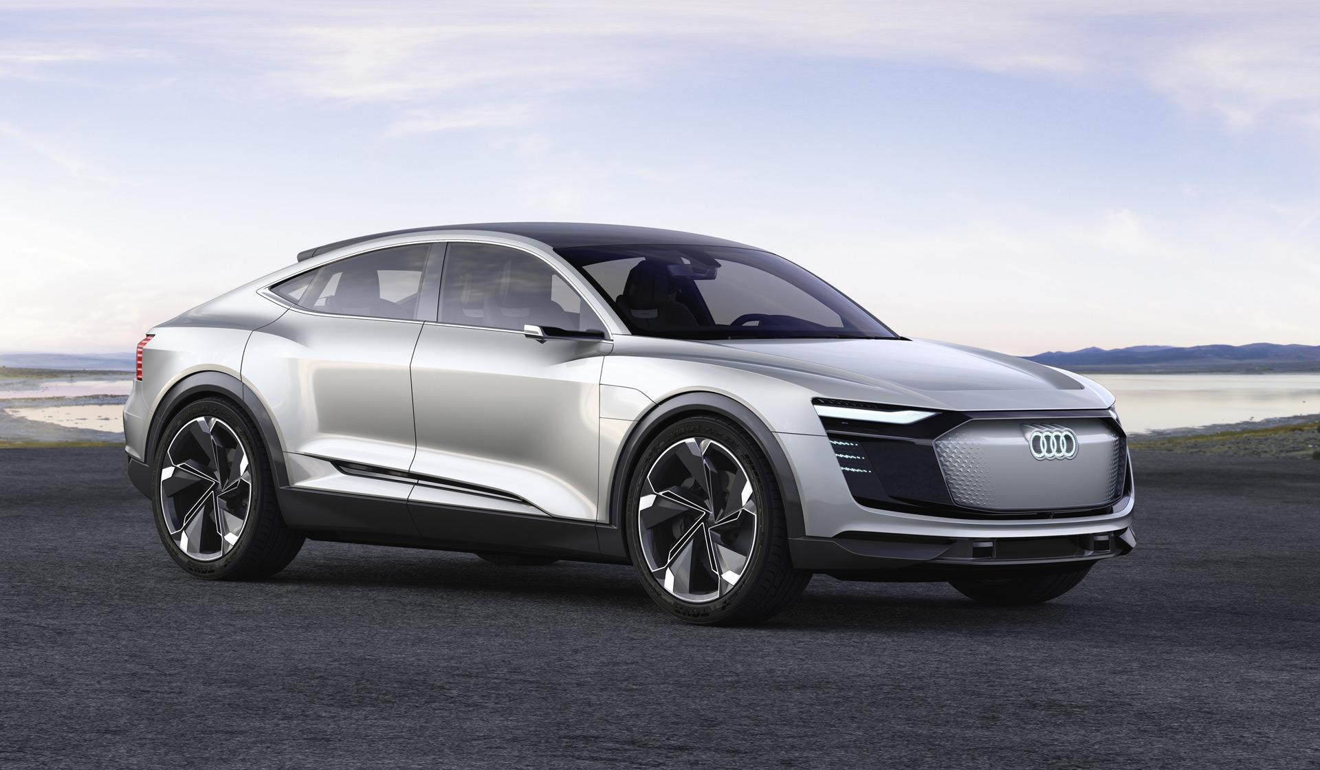 Hybrid Cars Audi Etron Sportback Second Electric Car Automaker Enter - Audi hybrid cars