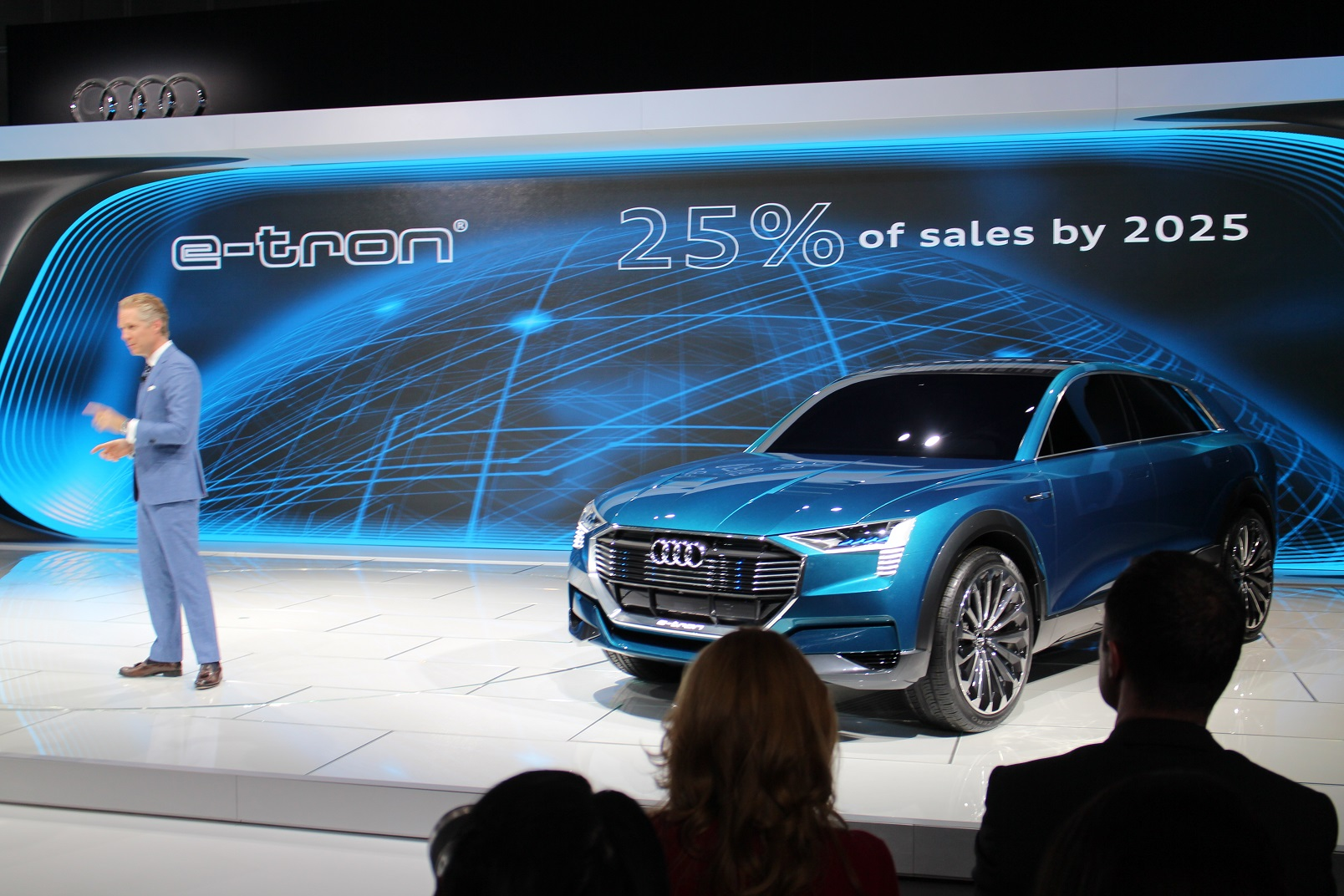 Audi Electric Suv To Be Called The E Tron