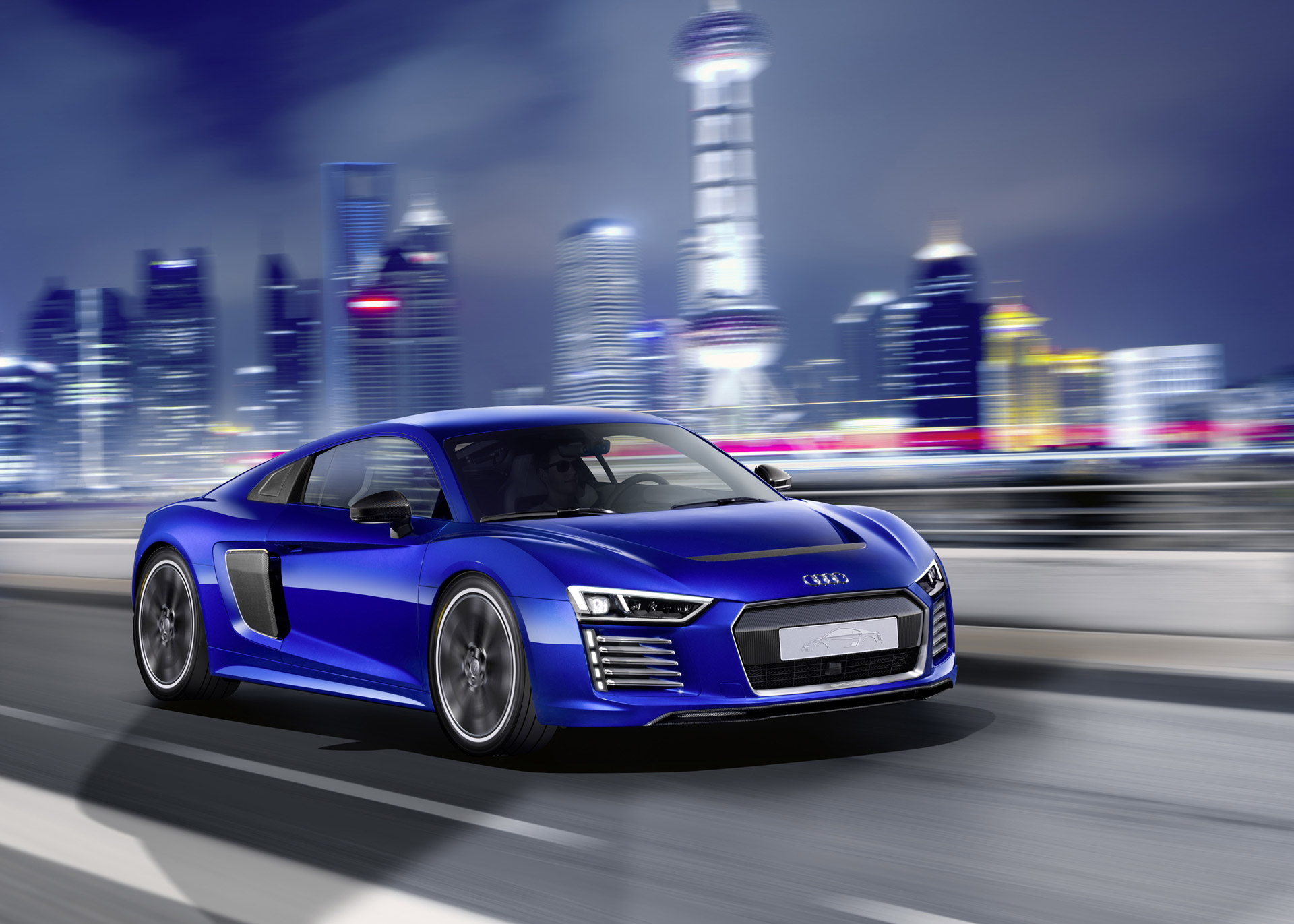 audi reveals r8 e tron piloted driving concept. Black Bedroom Furniture Sets. Home Design Ideas