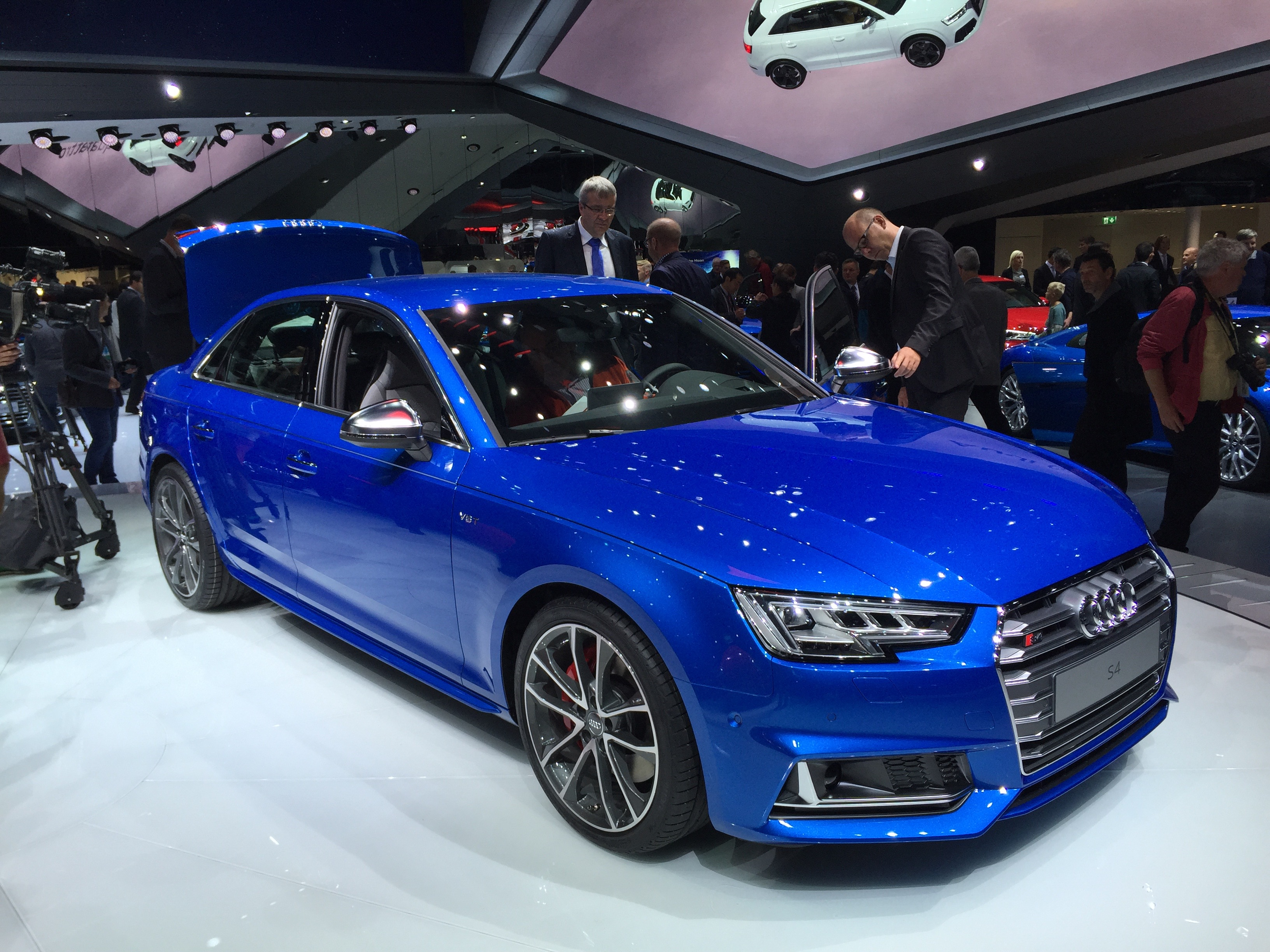2017 audi s4 2015 frankfurt auto show debut. Black Bedroom Furniture Sets. Home Design Ideas