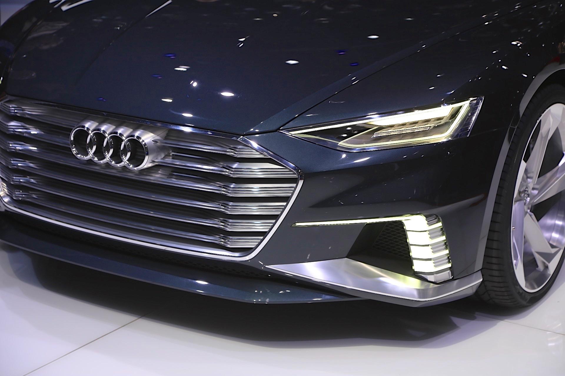 Audi A9 E Tron Electric Car Tesla Model S Rival To
