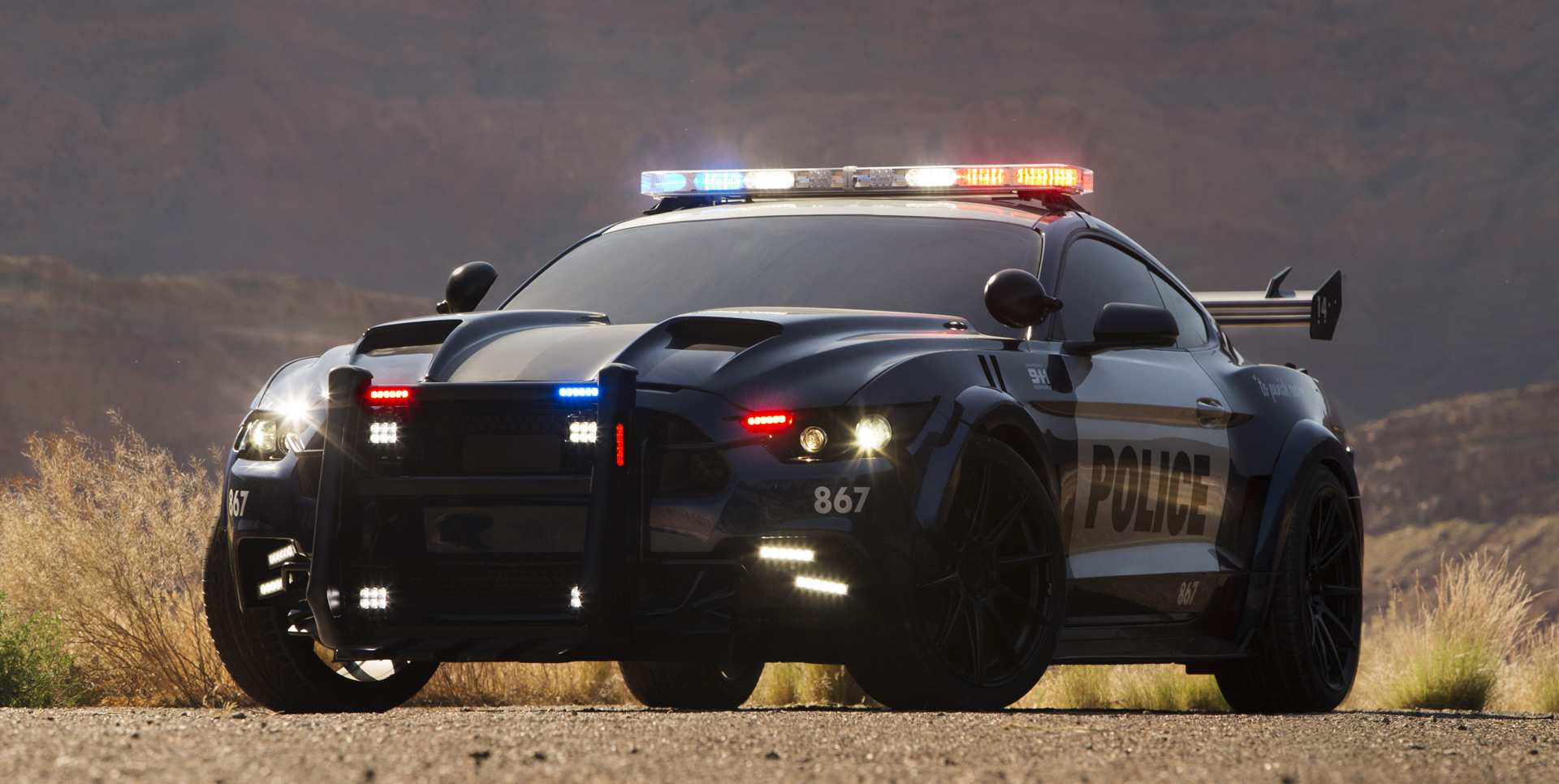 transformers 5s barricade revealed as ford mustang cop car