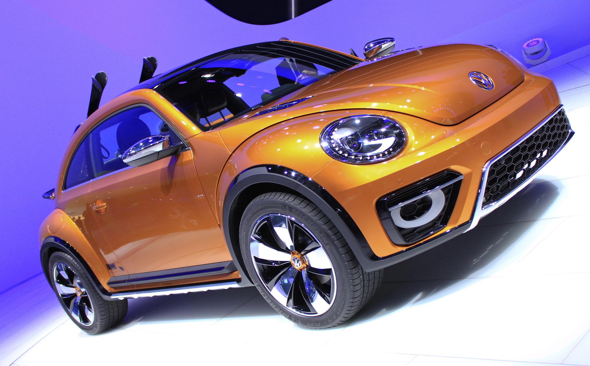 Vw Beetle Dune Off Road Concept 2014 Detroit Auto Show