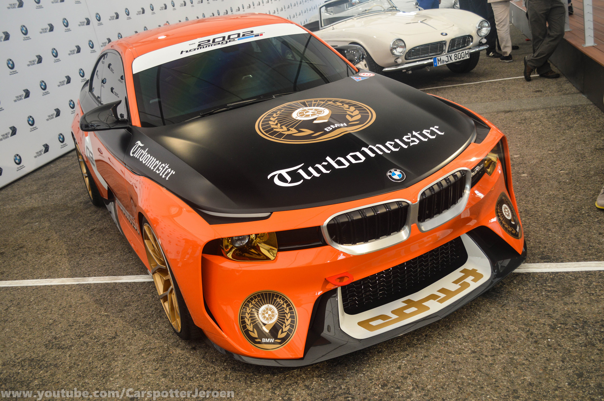 Bmw 2002 Homage Concept Gets Retro Livery For Monterey Car