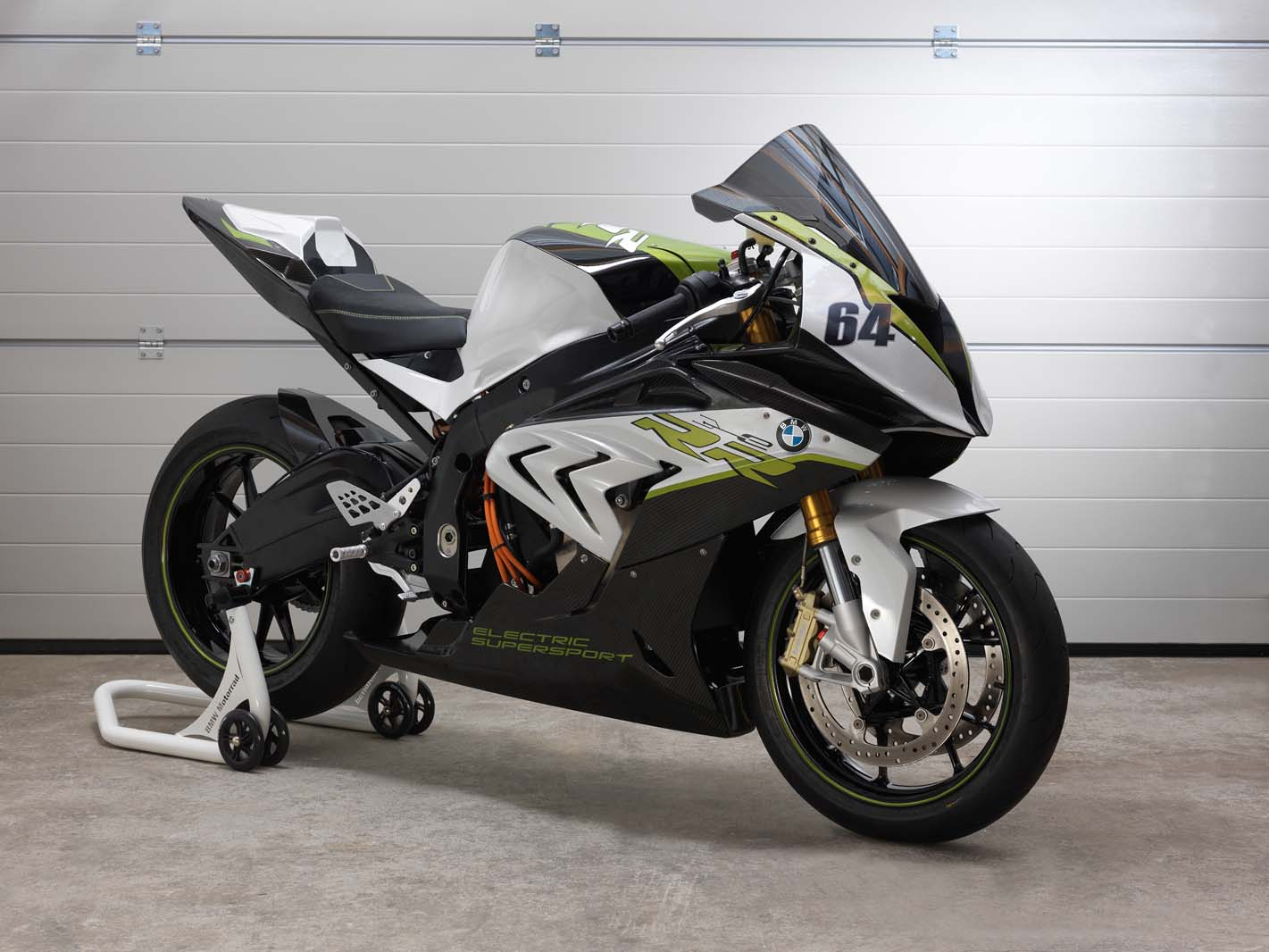 BMW Gives a Glimpse of Its Electric Supersport Motorcycle