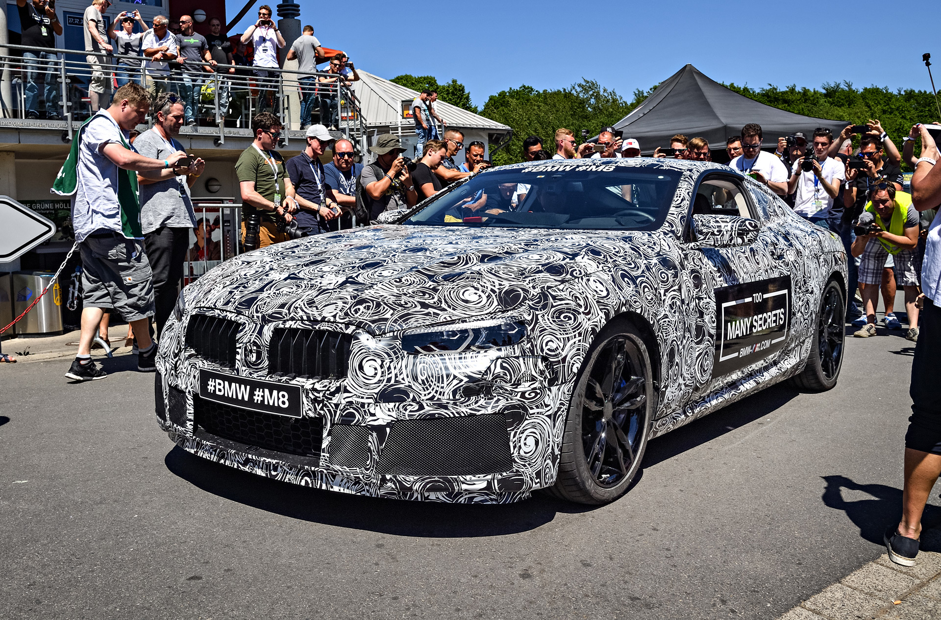 bmw m8 teased will race at le mans. Black Bedroom Furniture Sets. Home Design Ideas