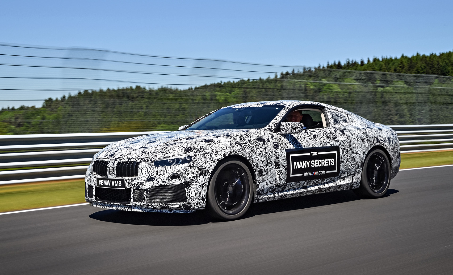 bmw m8 teased will race at le mans autozaurus. Black Bedroom Furniture Sets. Home Design Ideas