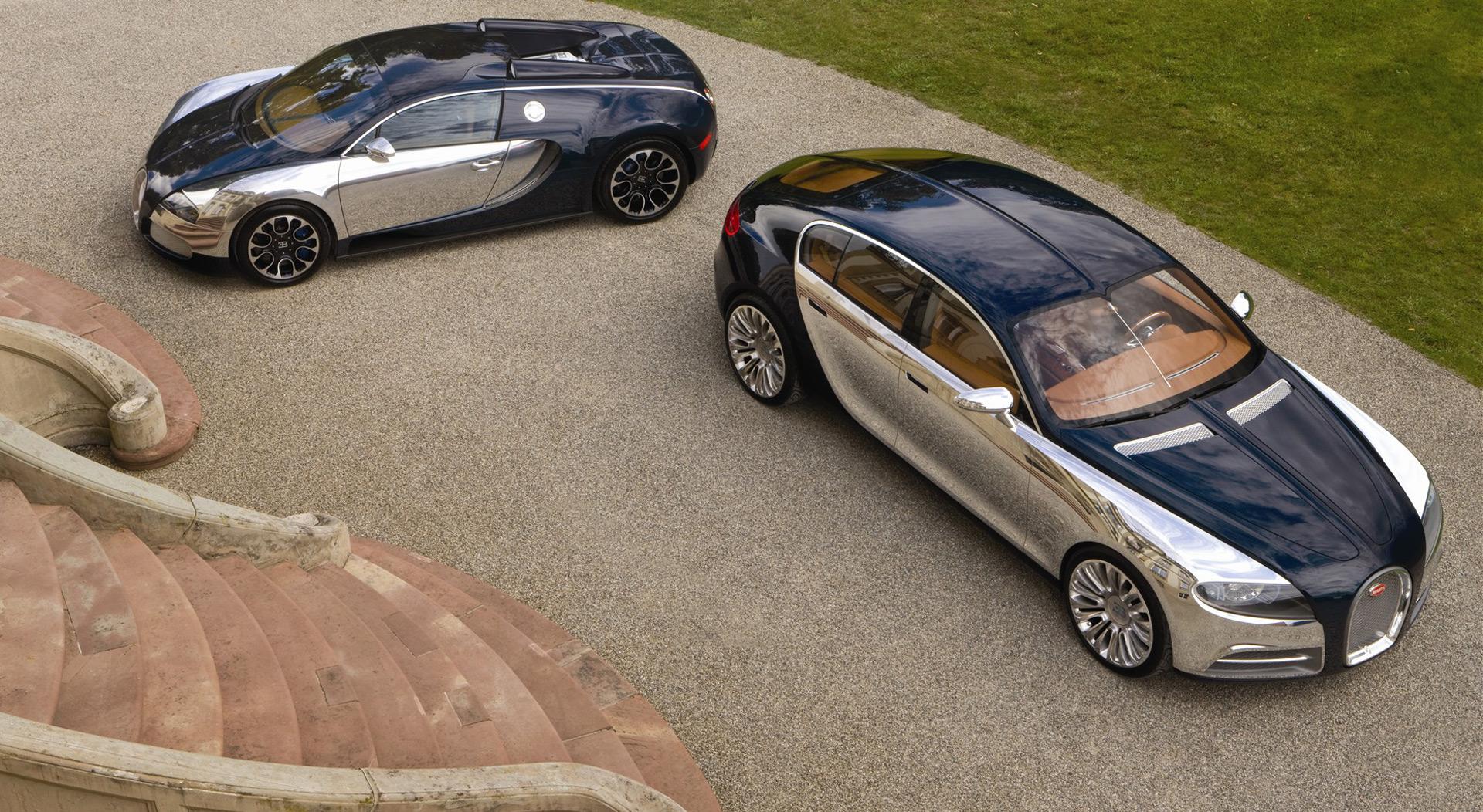 Bugatti might replace Chiron with a sedan