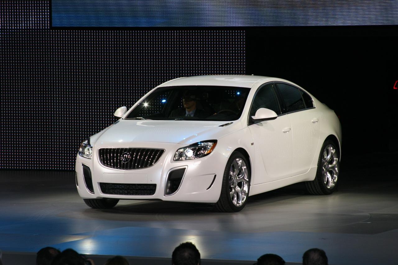 2015 Buick Grand National >> 2010 Detroit Auto Show: 2011 Buick Regal GS Concept Live Gallery