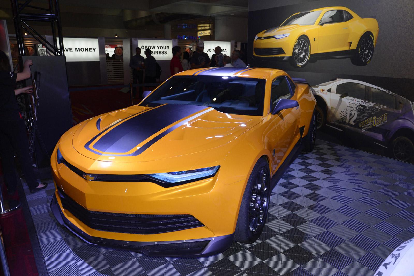transformers 4 camaro concept and corvette stingray make sema showing. Black Bedroom Furniture Sets. Home Design Ideas