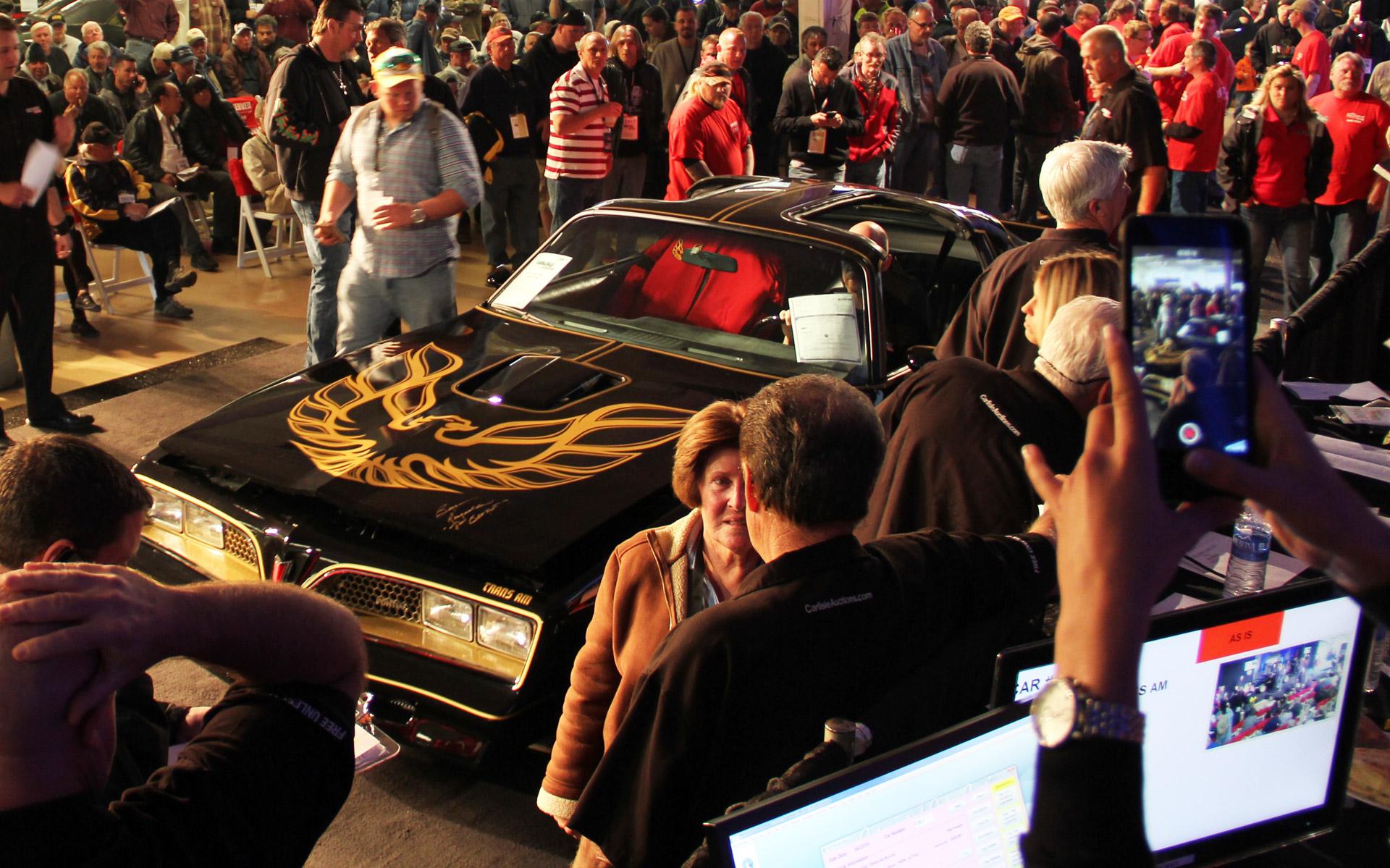 Burt Reynolds Second Bandit Pontiac Trans Am Sells For