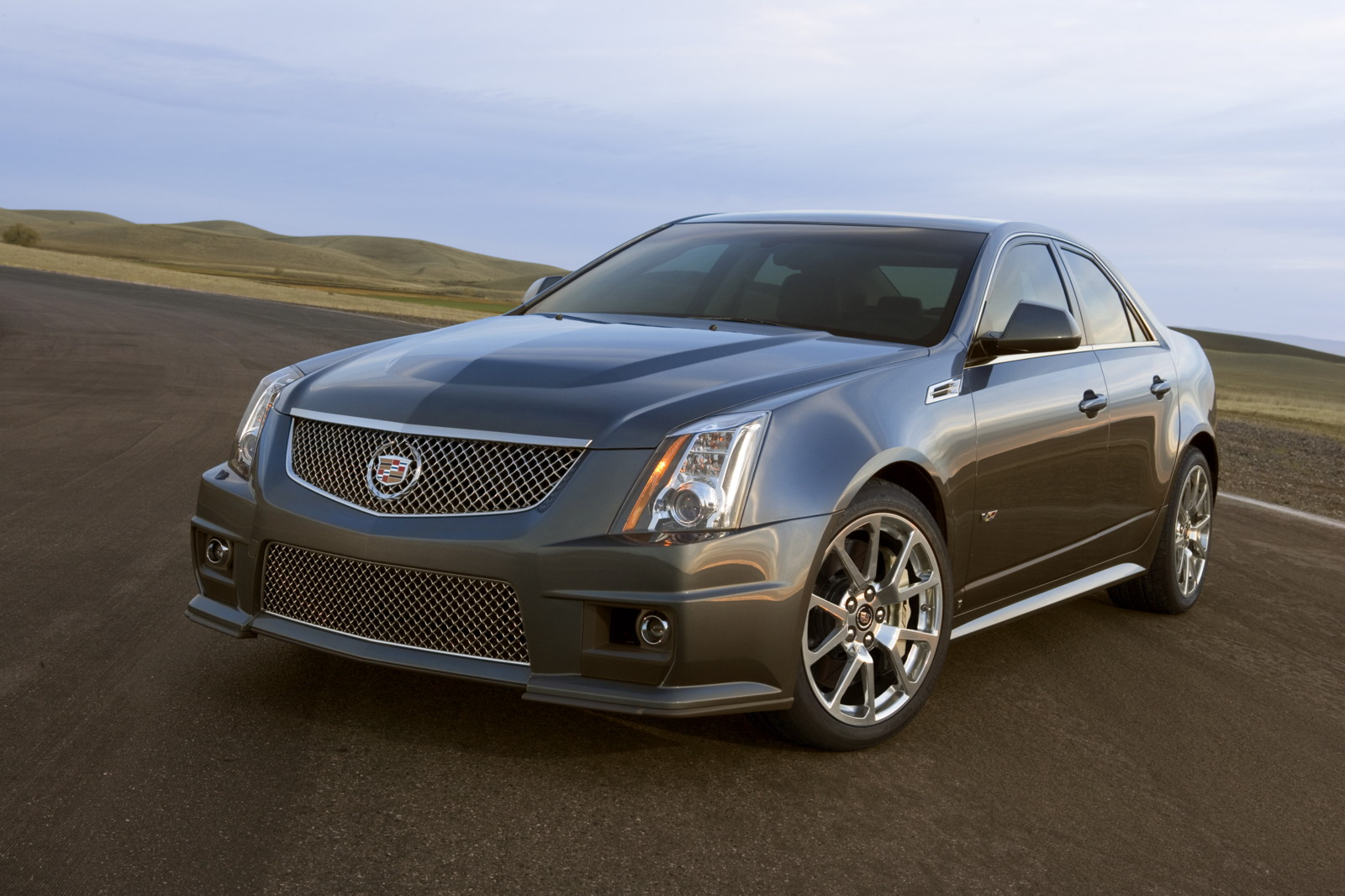 2010 cadillac cts v performance review the car connection. Black Bedroom Furniture Sets. Home Design Ideas