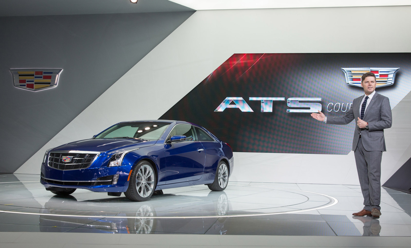 425 Horsepower And Twin-Turbo V-6 For Cadillac ATS-V: Report