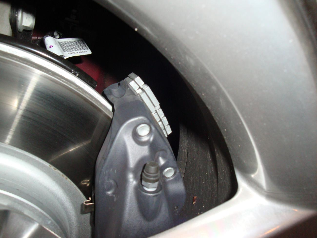 Mysterious Brake Weights On Camaro Ss Brembo Brakes