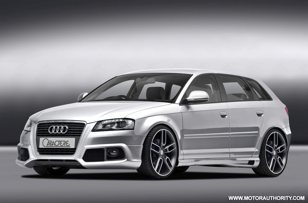 caractere modified audi a3 balances taste with tuning. Black Bedroom Furniture Sets. Home Design Ideas