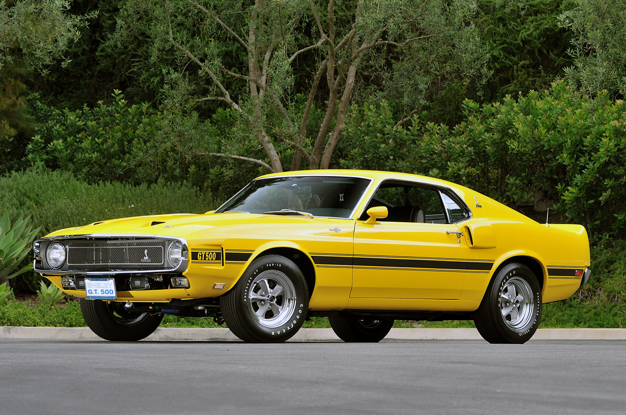 Carroll Shelby Owned 1969 Shelby Gt500 Heading To Auction