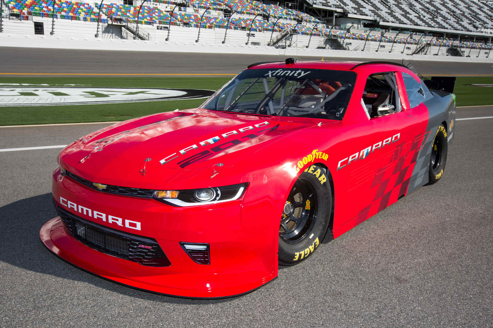 2018 Jeep Grand Cherokee Trackhawk Hellcat >> Sixth-generation Camaro to race in NASCAR Xfinity Series next year