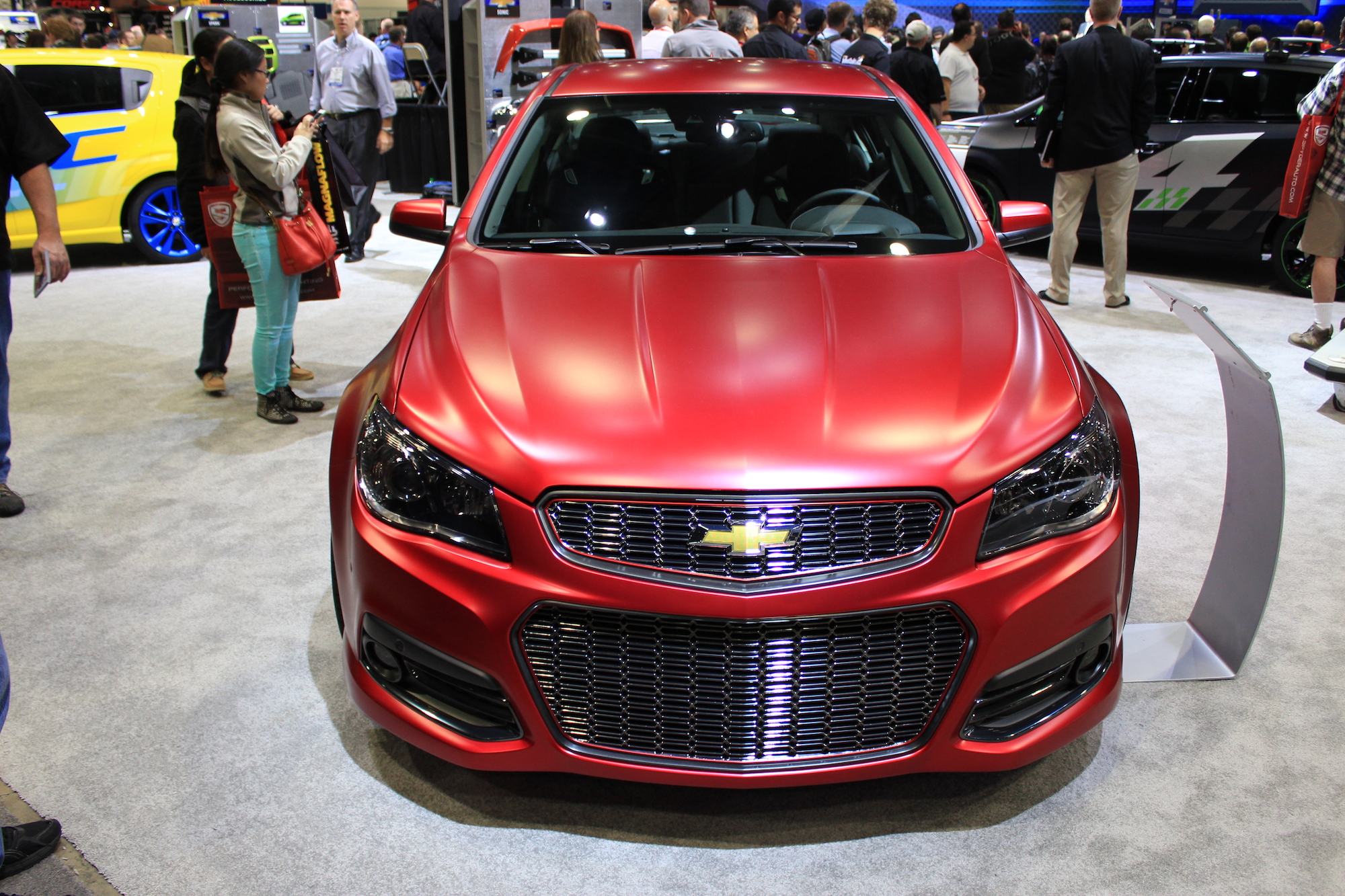 2014 Chevrolet Ss Prepped By Jeff Gordon Live From Sema