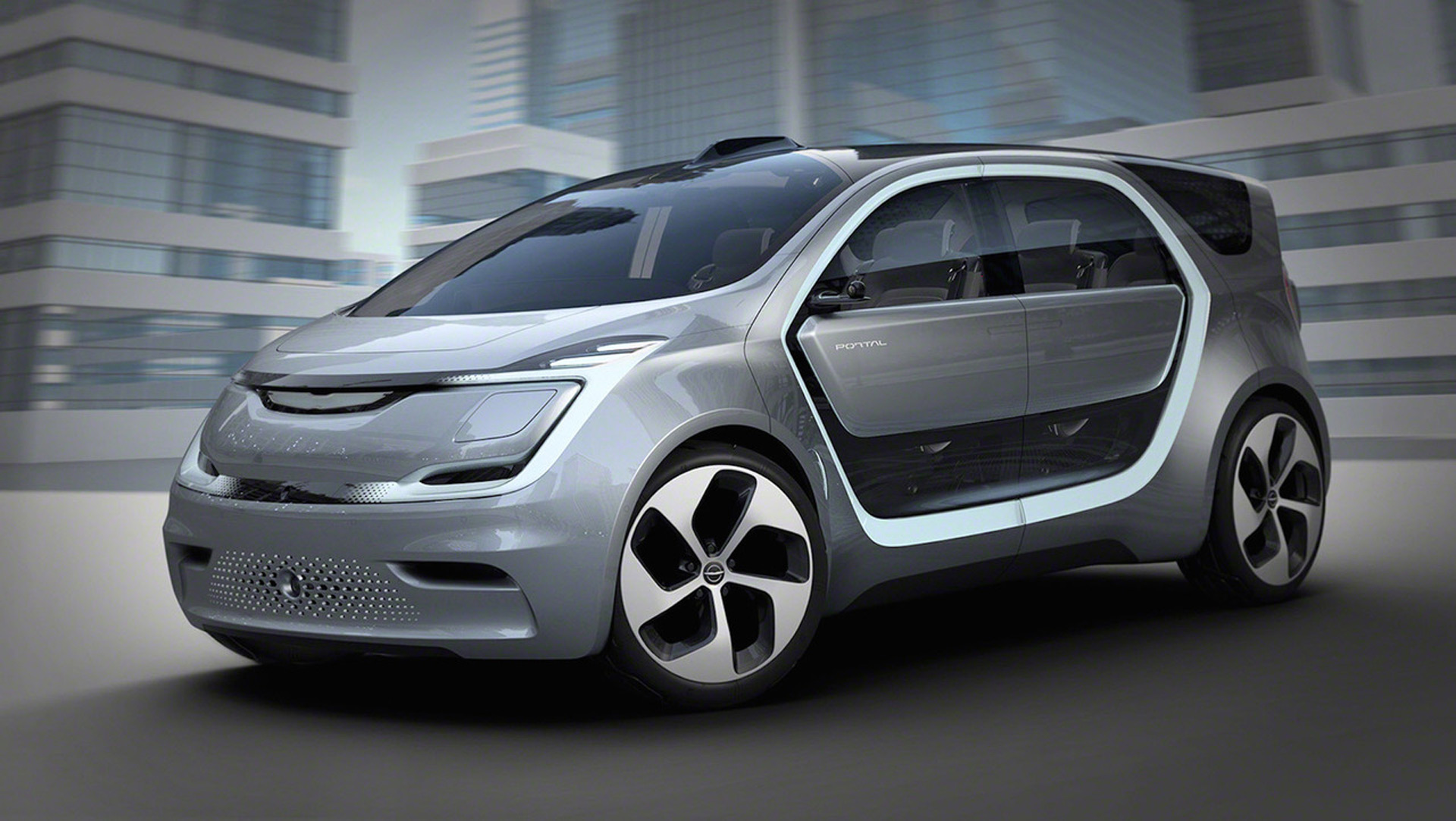 Chrysler Portal concept is an electric van with Level 3 self-driving capability