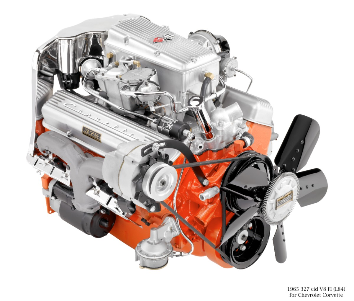 Corvette Small Block V-8s: A Brief History